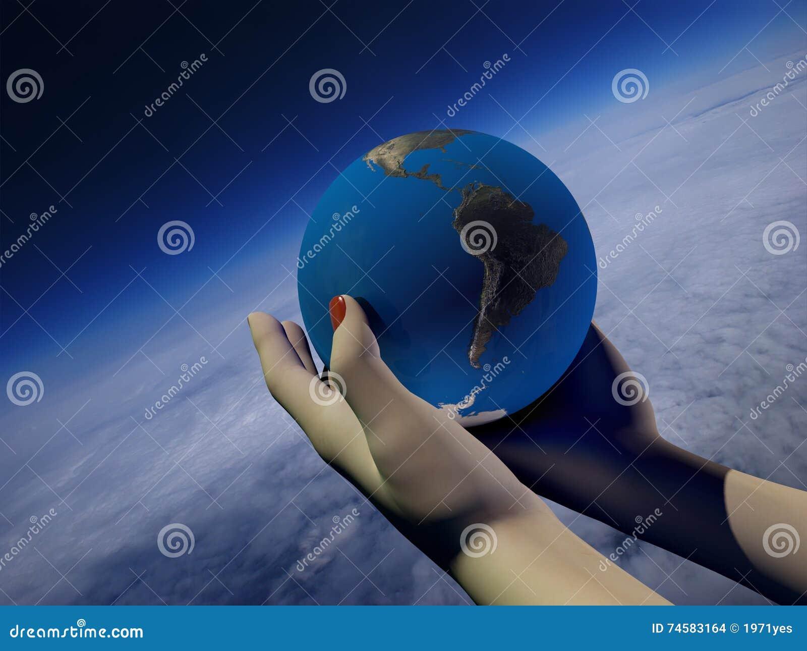 Modell av jordklotet