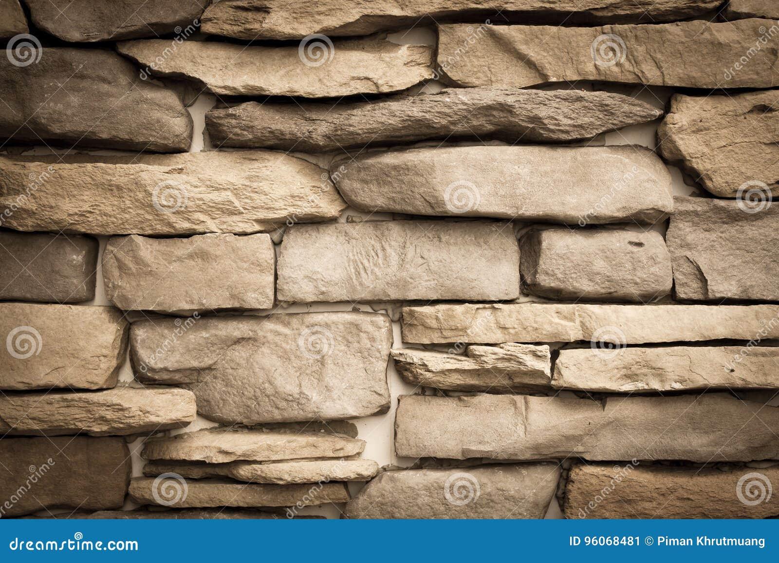 Modellen av dekorativt kritiserar bakgrund för stenväggen