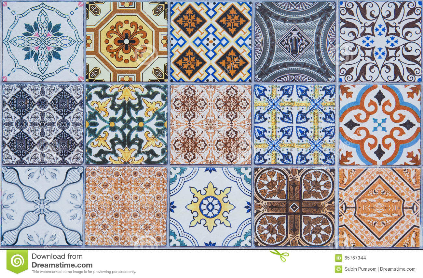 Modeller för keramiska tegelplattor