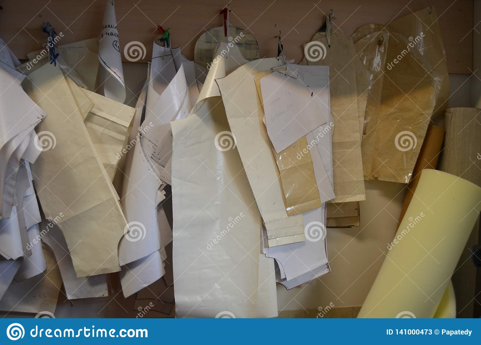 Modeller för textiler