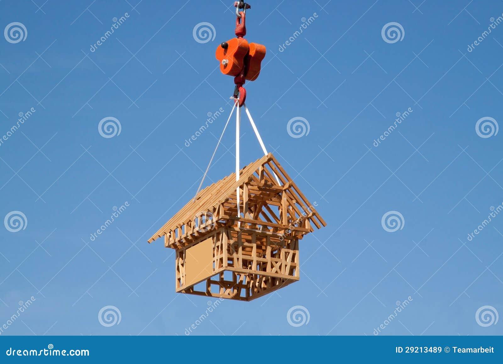 Modellera huset av trä