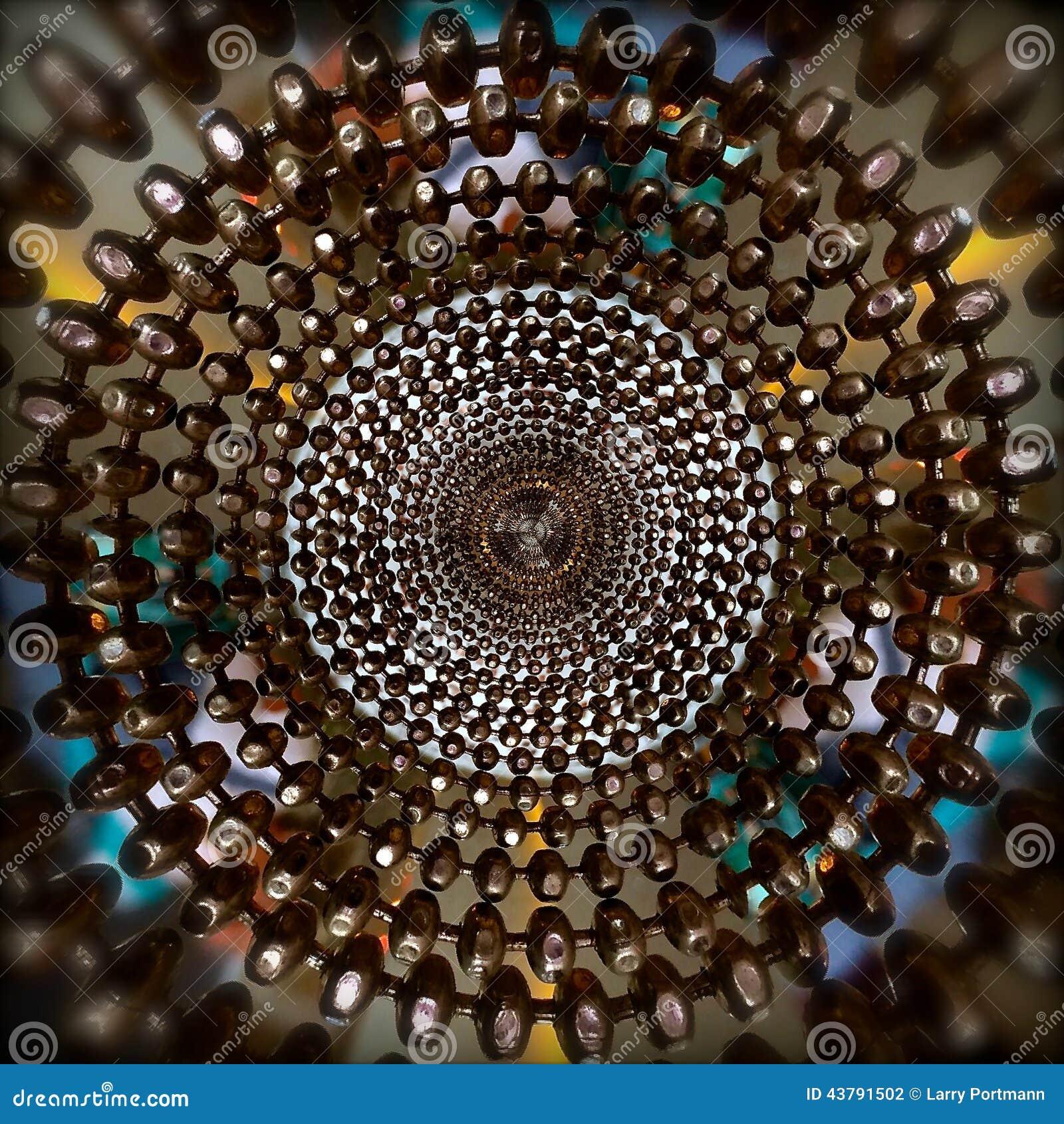 Modello astratto concentrico dell anello delle perle