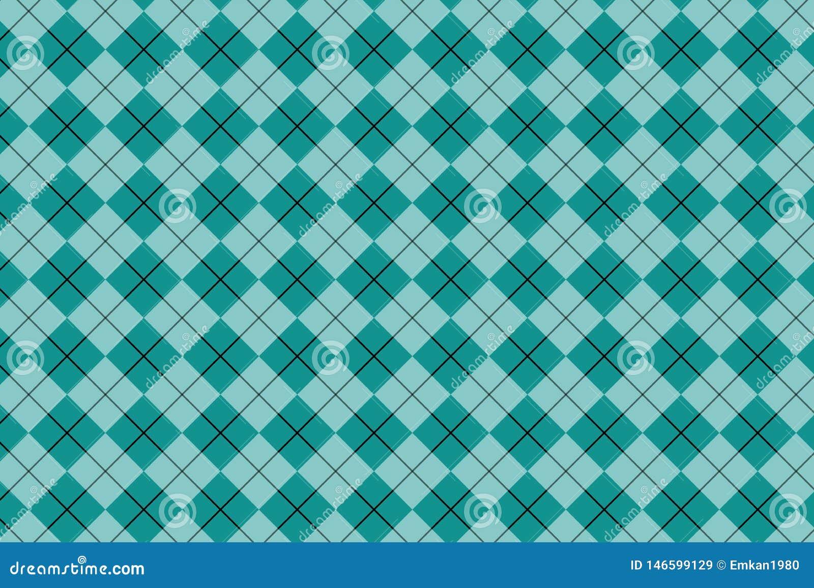 Modello blu-chiaro Struttura dal rombo/quadrati per - il plaid, tovaglie, vestiti, camice, vestiti, carta, lettiera, coperte,