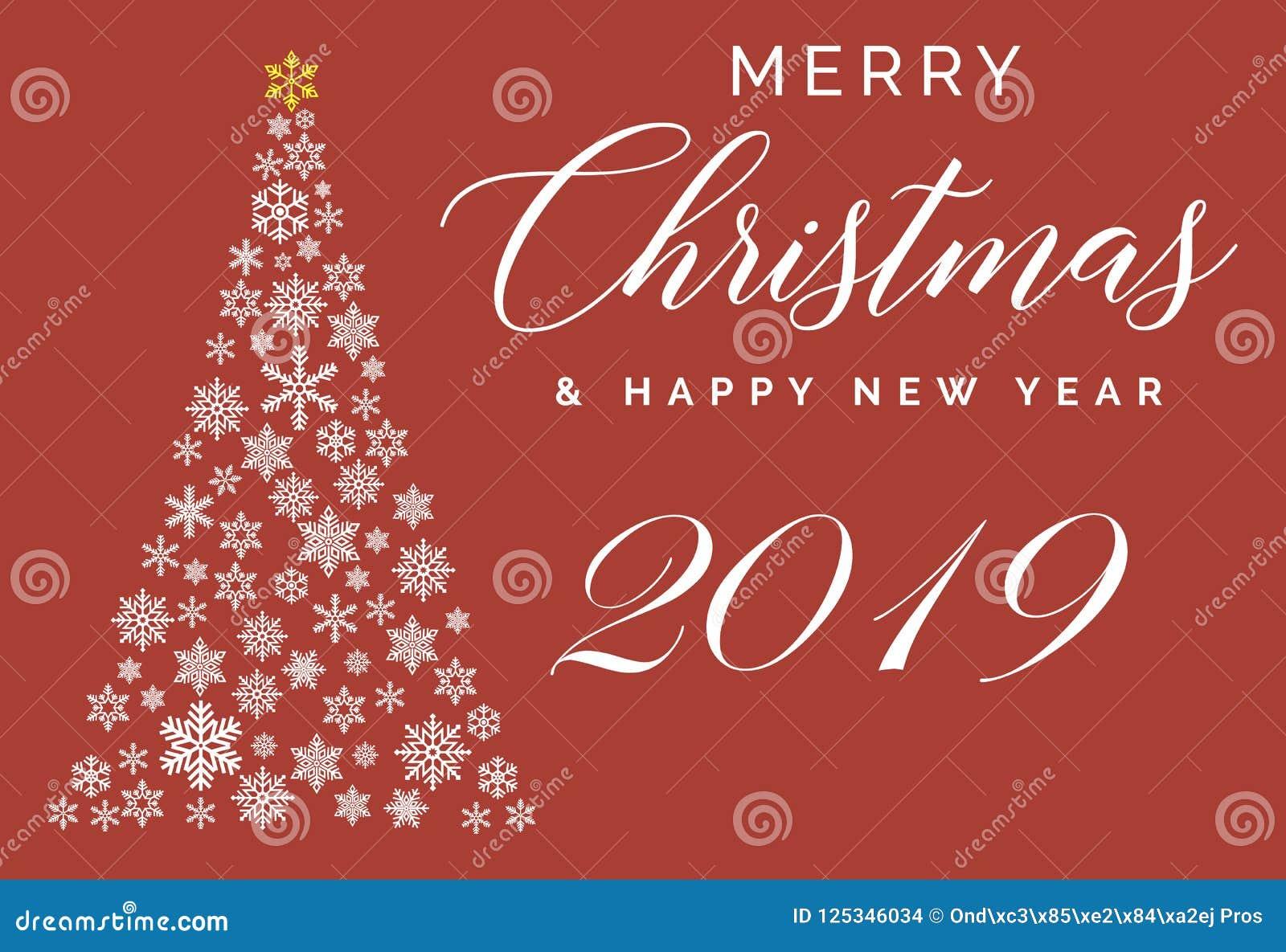 Modello D Iscrizione Del Buon Anno E Di Buon Natale 2019