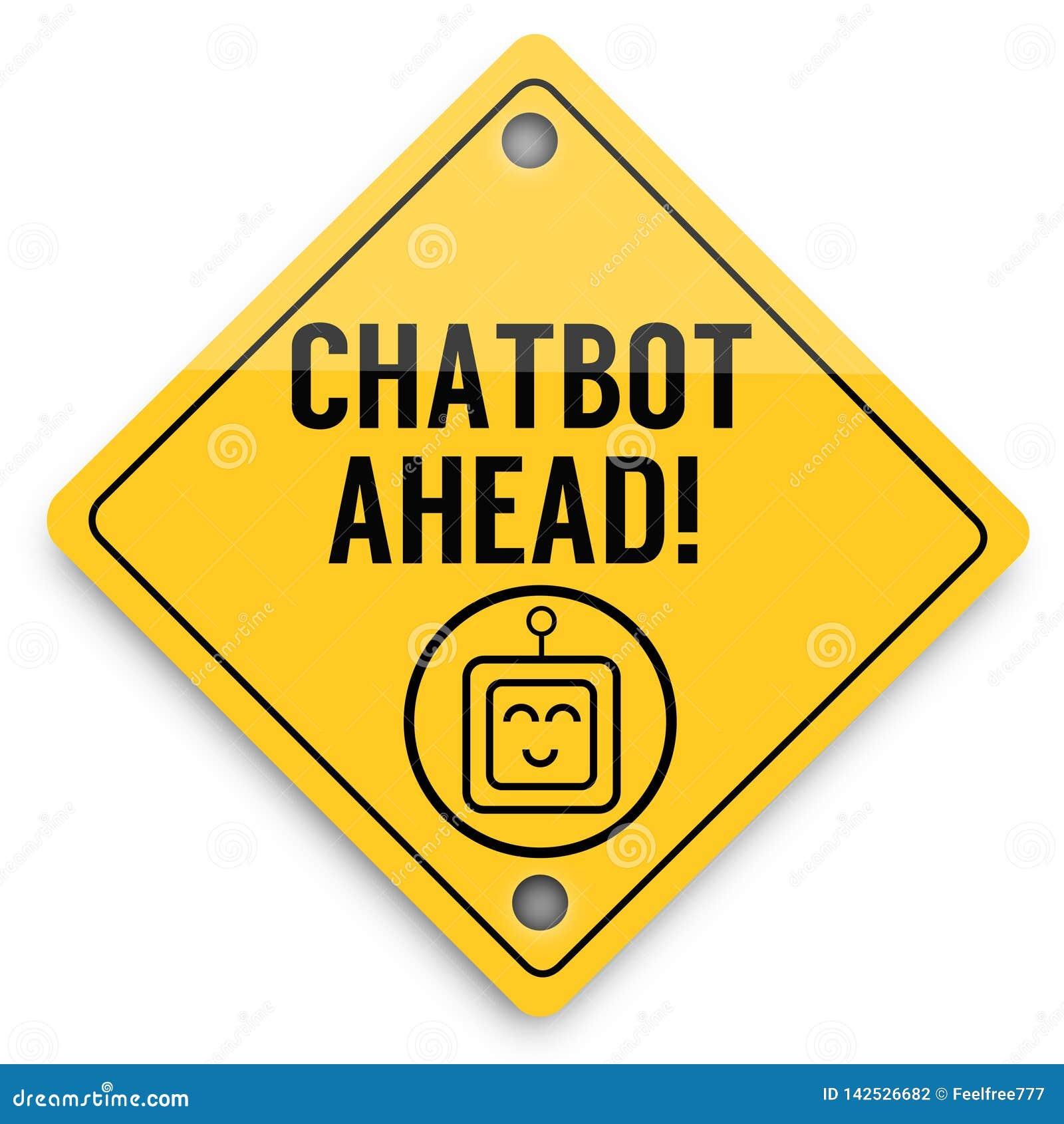 Modello degli elementi del fondo di Chatbot avanti, manifesto astratto di affari di qualit? eccellente