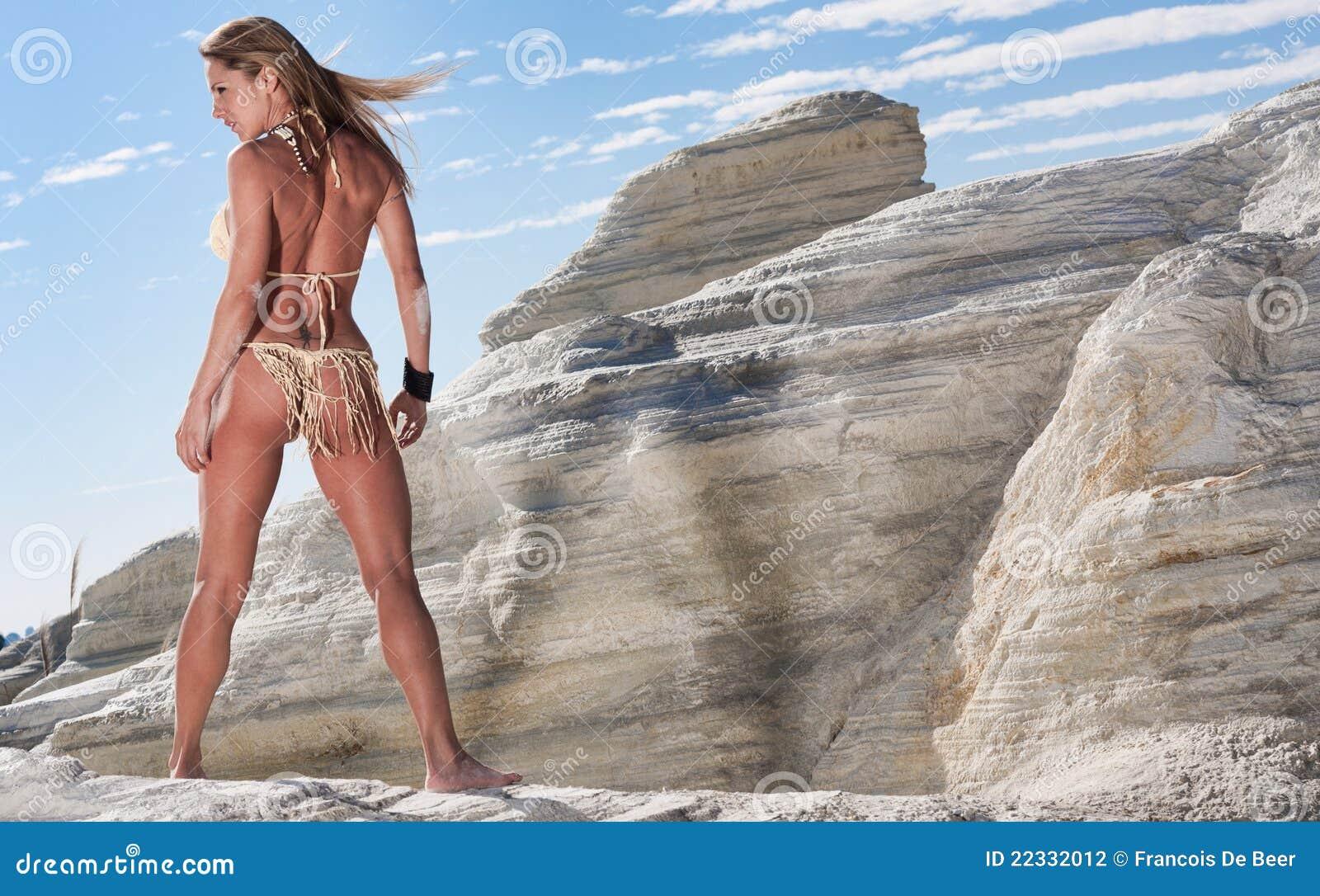Modello del bikini