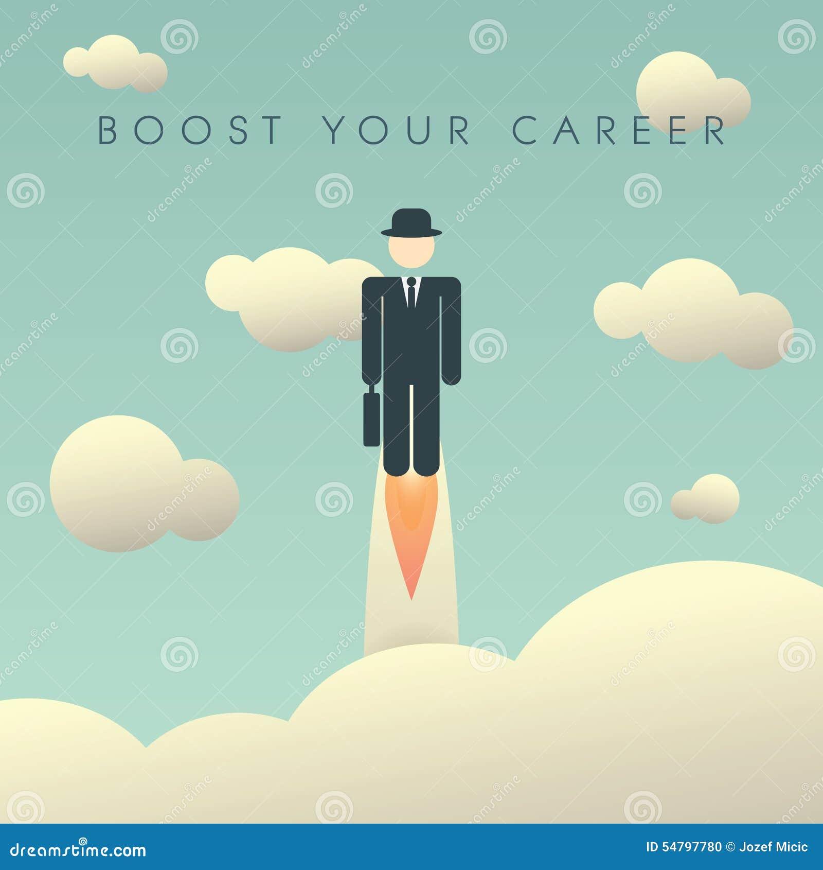 Modello del manifesto di sviluppo di carriera con