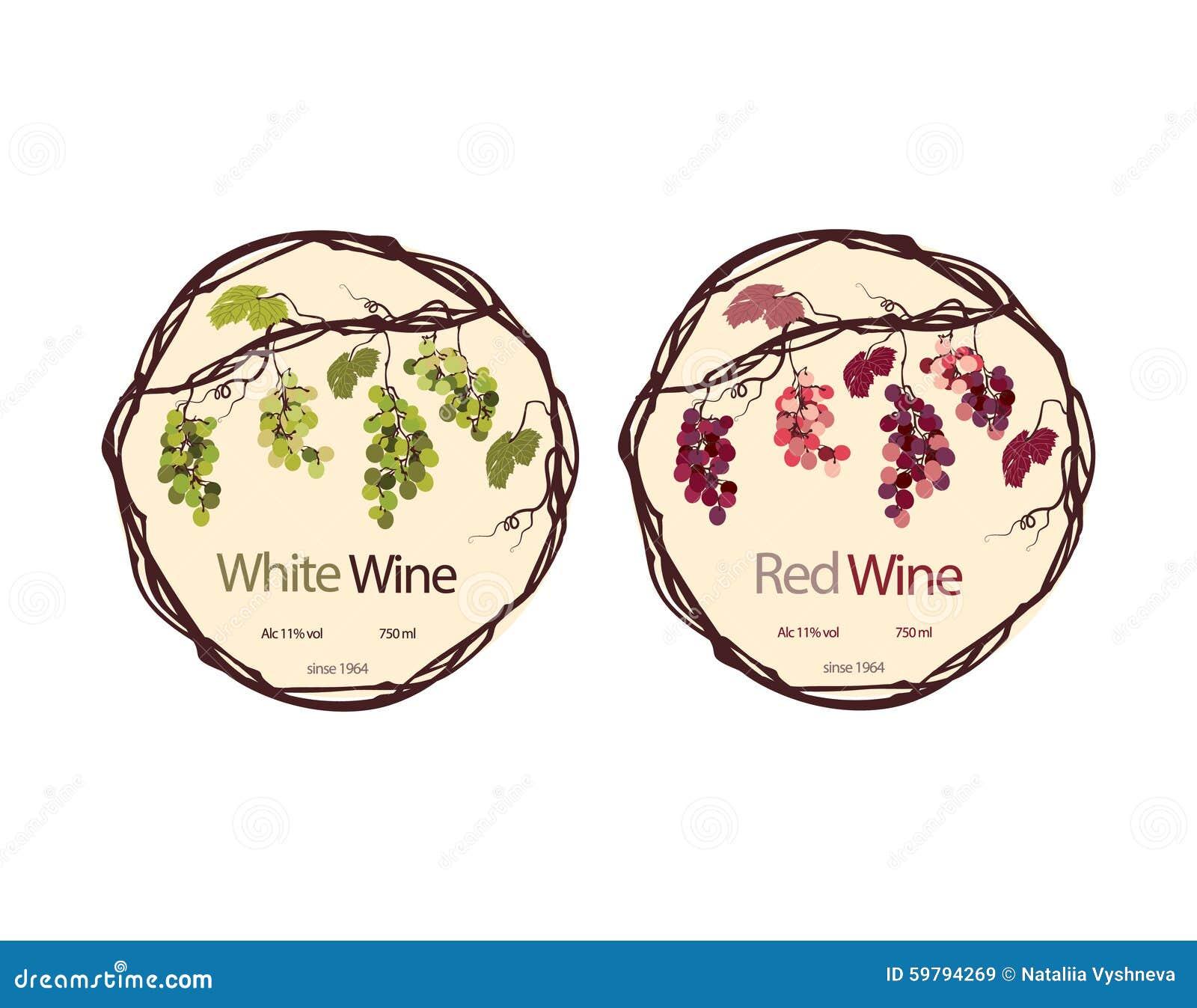 Molto Modello Della Bottiglia Di Vino Con L'etichetta Illustrazione  MO58