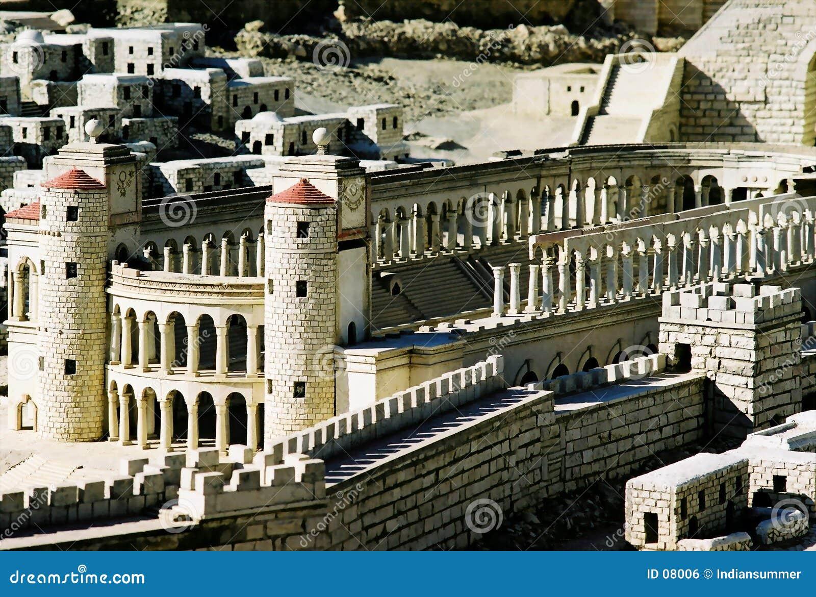 Modello della città di Gerusalemme