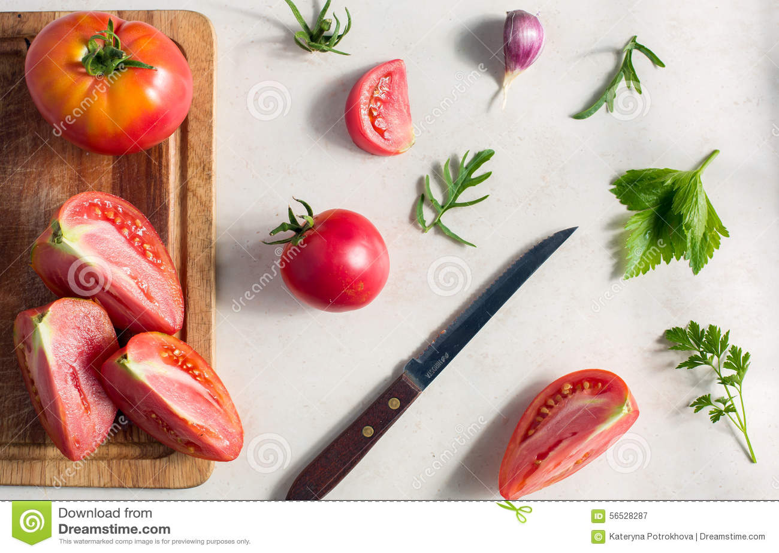 Modello della verdura fresca