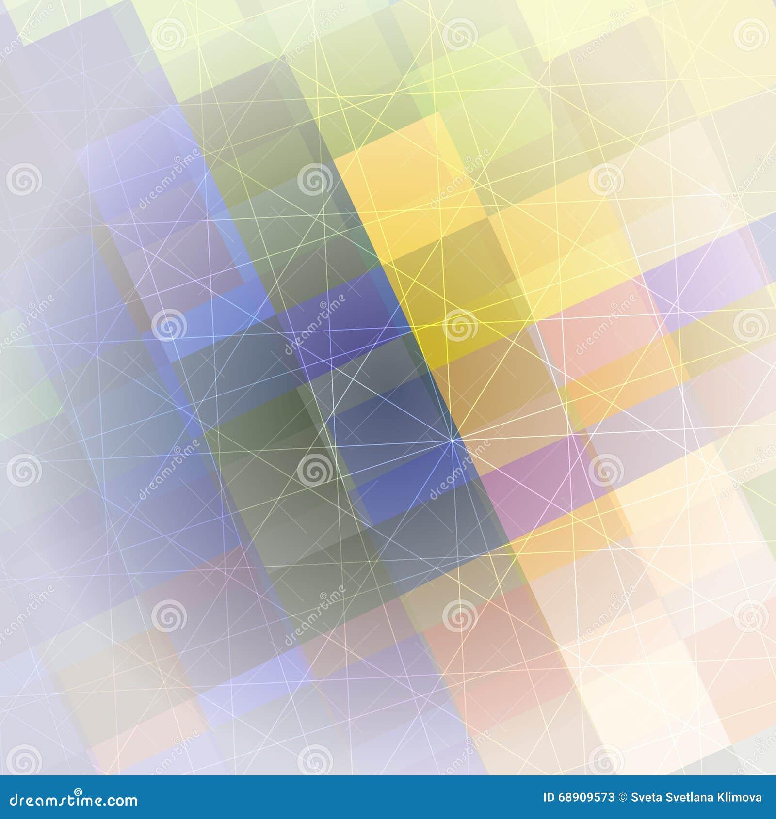 Modello delle forme geometriche Priorità bassa variopinta geometrica