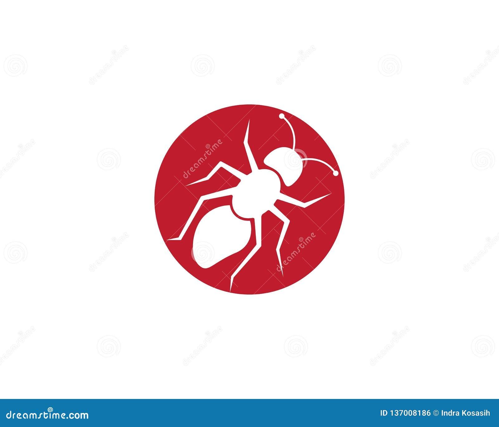 Modello di Ant Logo