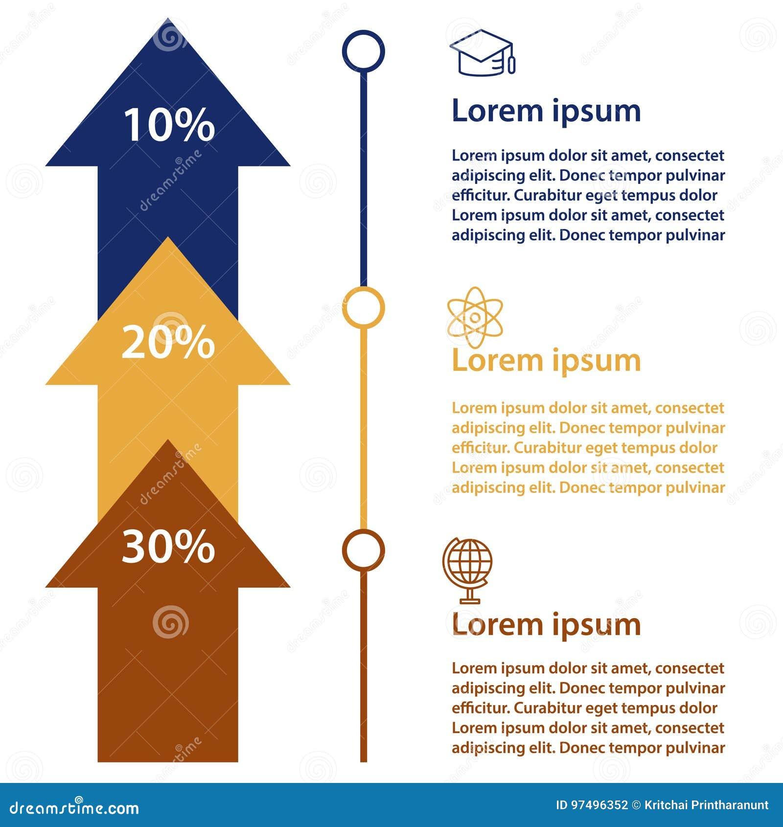 Modello di progettazione di Infographic