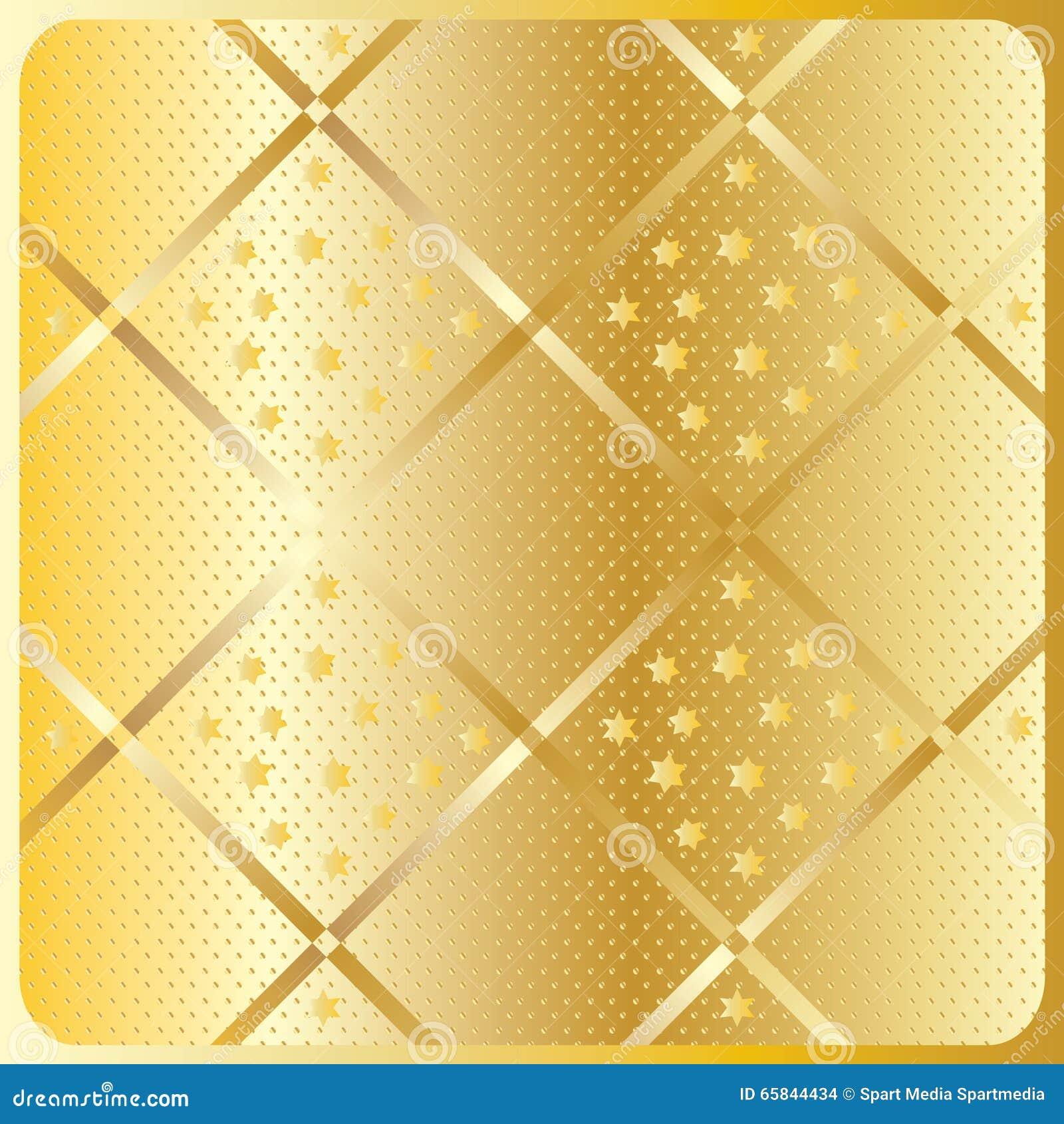 Modello geometrico diagonale dell oro