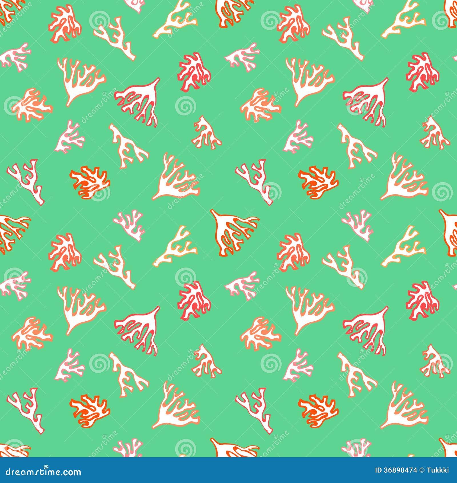Download Modello Nautico Con I Piccoli Coralli Rossi Illustrazione Vettoriale - Illustrazione di oceano, illustrazione: 36890474