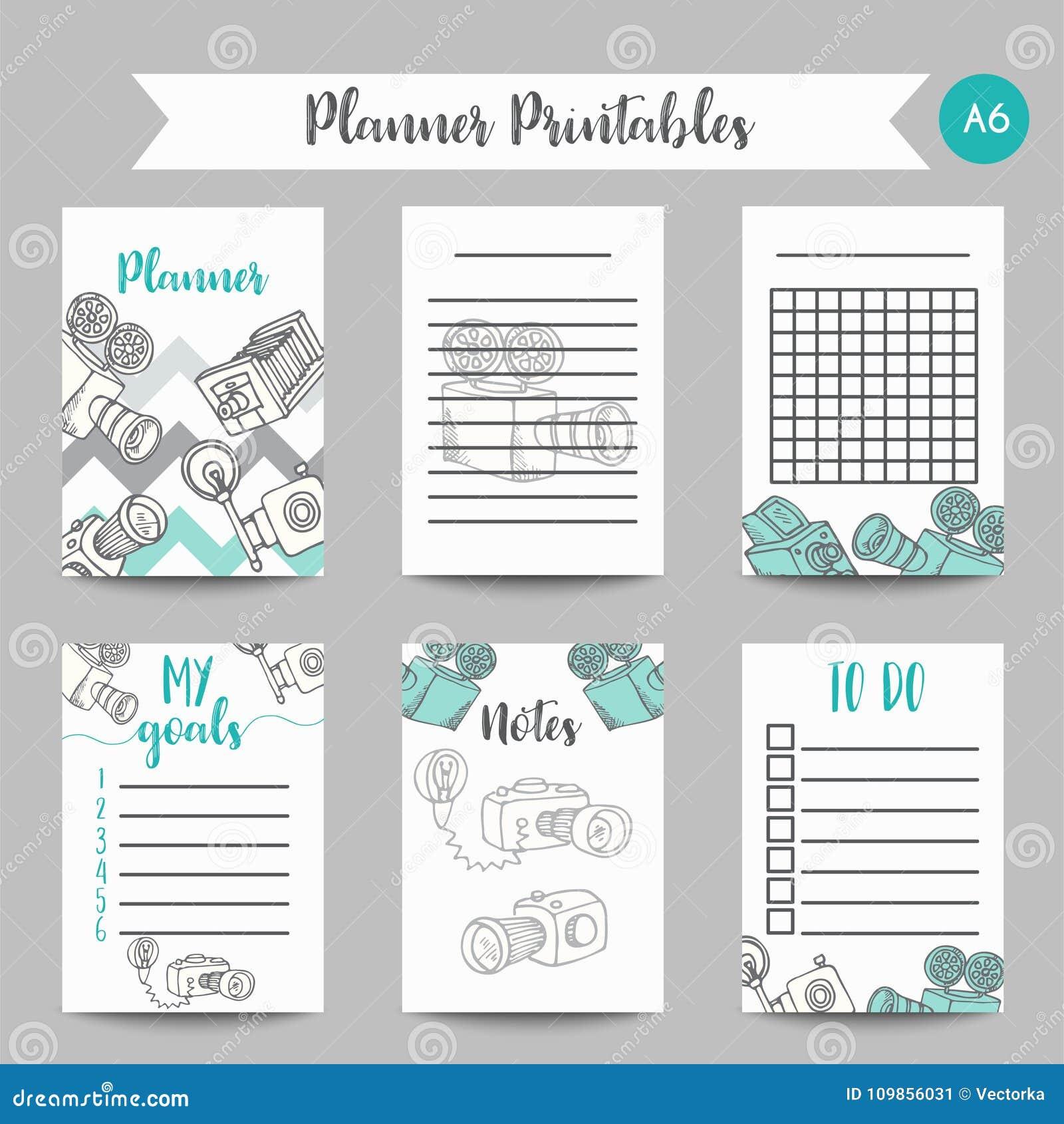 Calendario Per Appunti.Modello Quotidiano E Settimanale Del Calendario Del