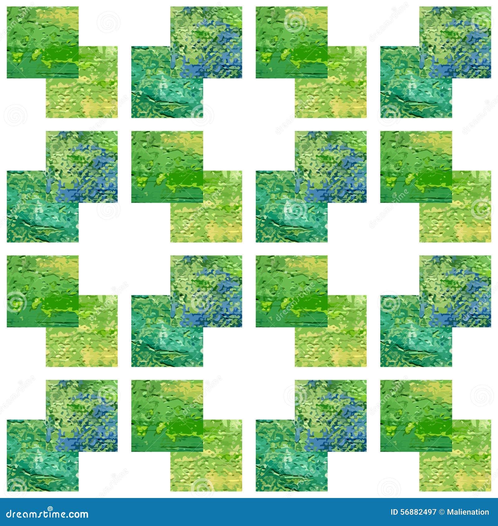 Modello senza cuciture acrilico verde Retro priorità bassa Struttura astratta Può essere usato per la carta da parati, materiali