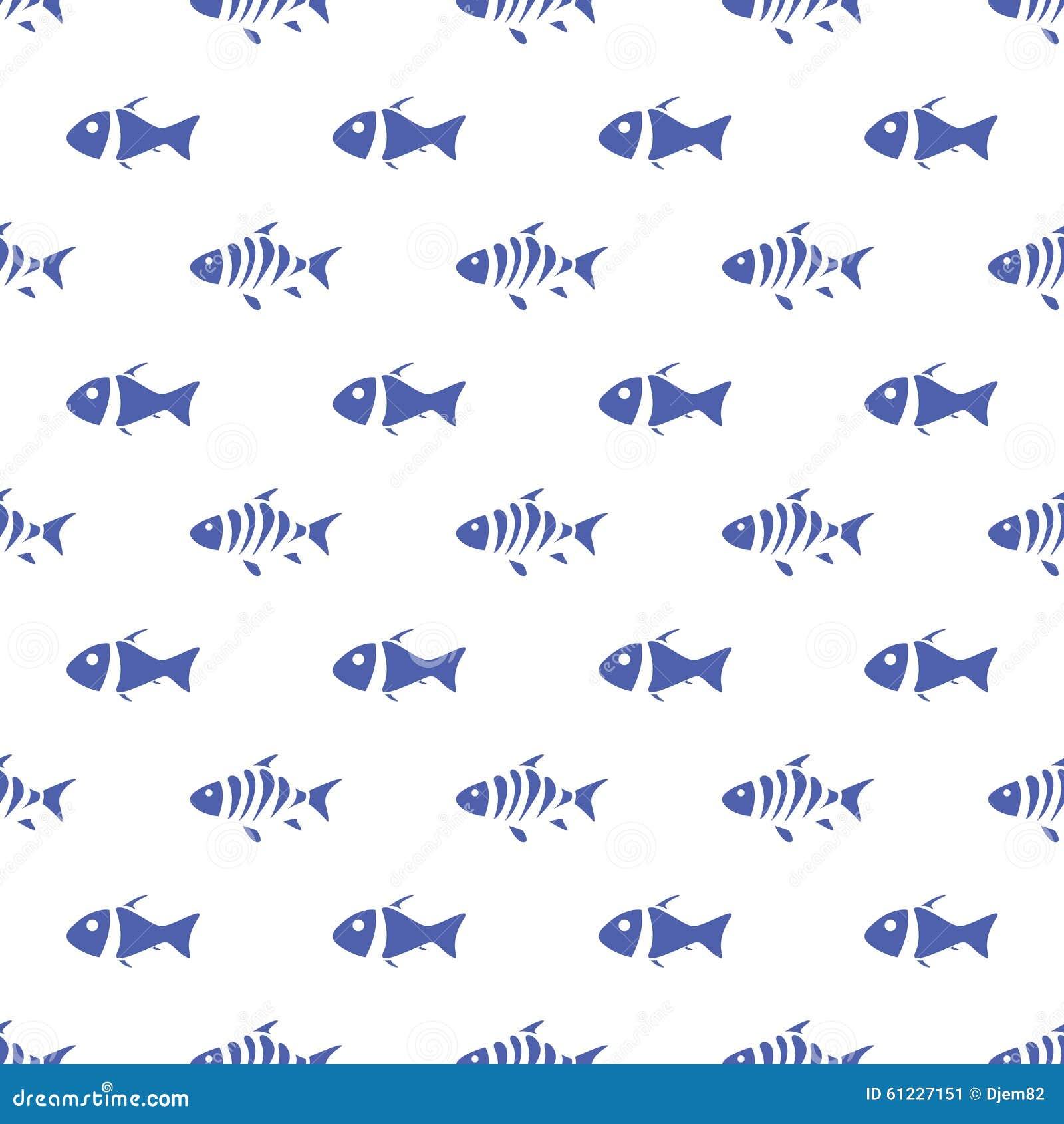 Modello senza cuciture del pesce