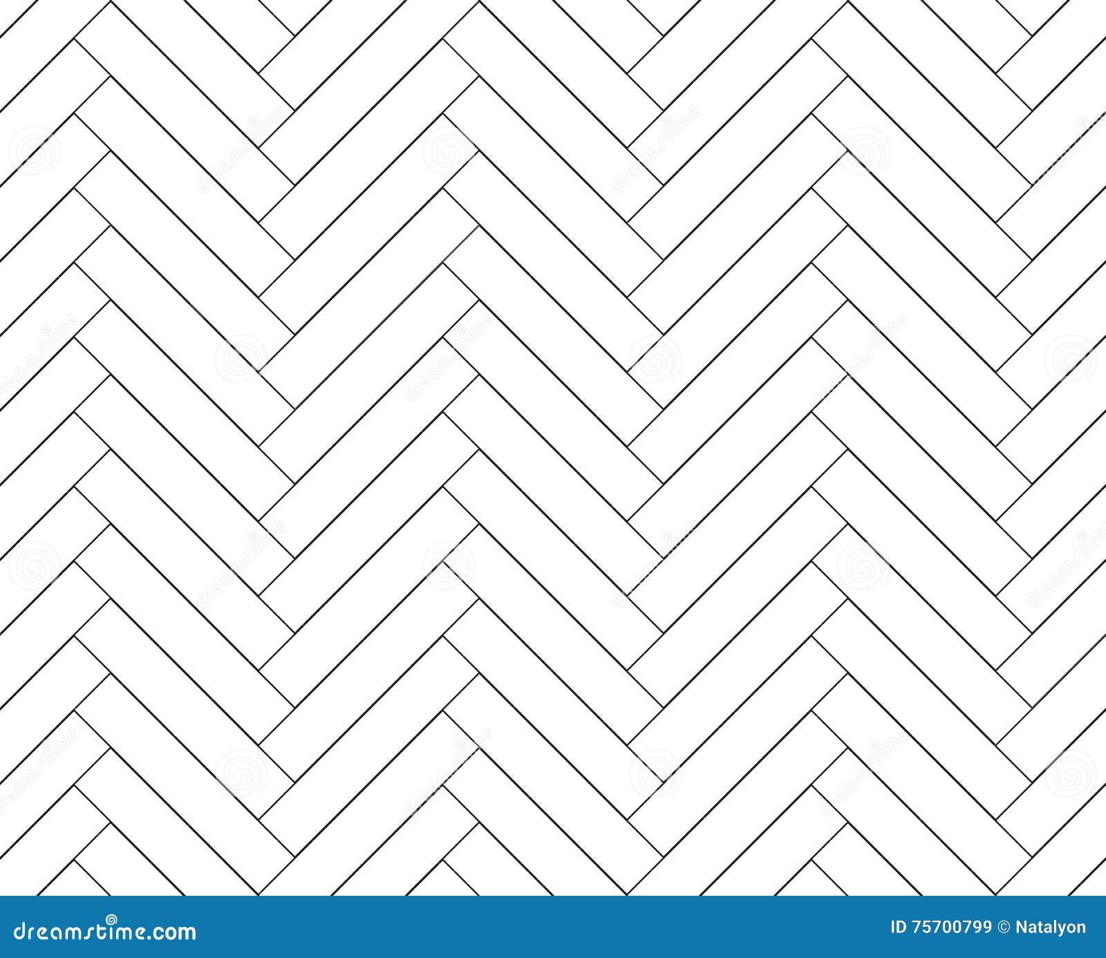 Modello senza cuciture di legno semplice in bianco e nero for Modello di layout del pavimento