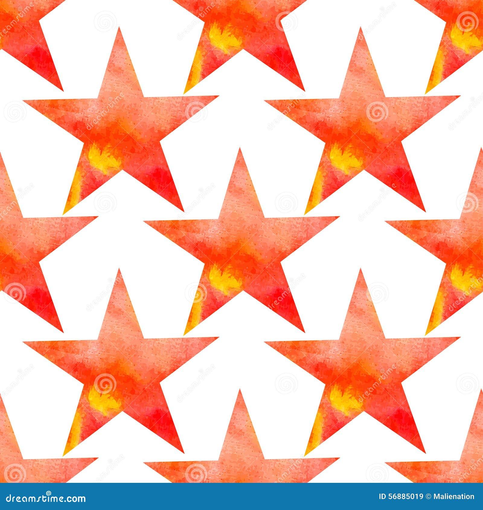 Modello senza cuciture di vettore dell acquerello con le stelle La galassia stars la struttura