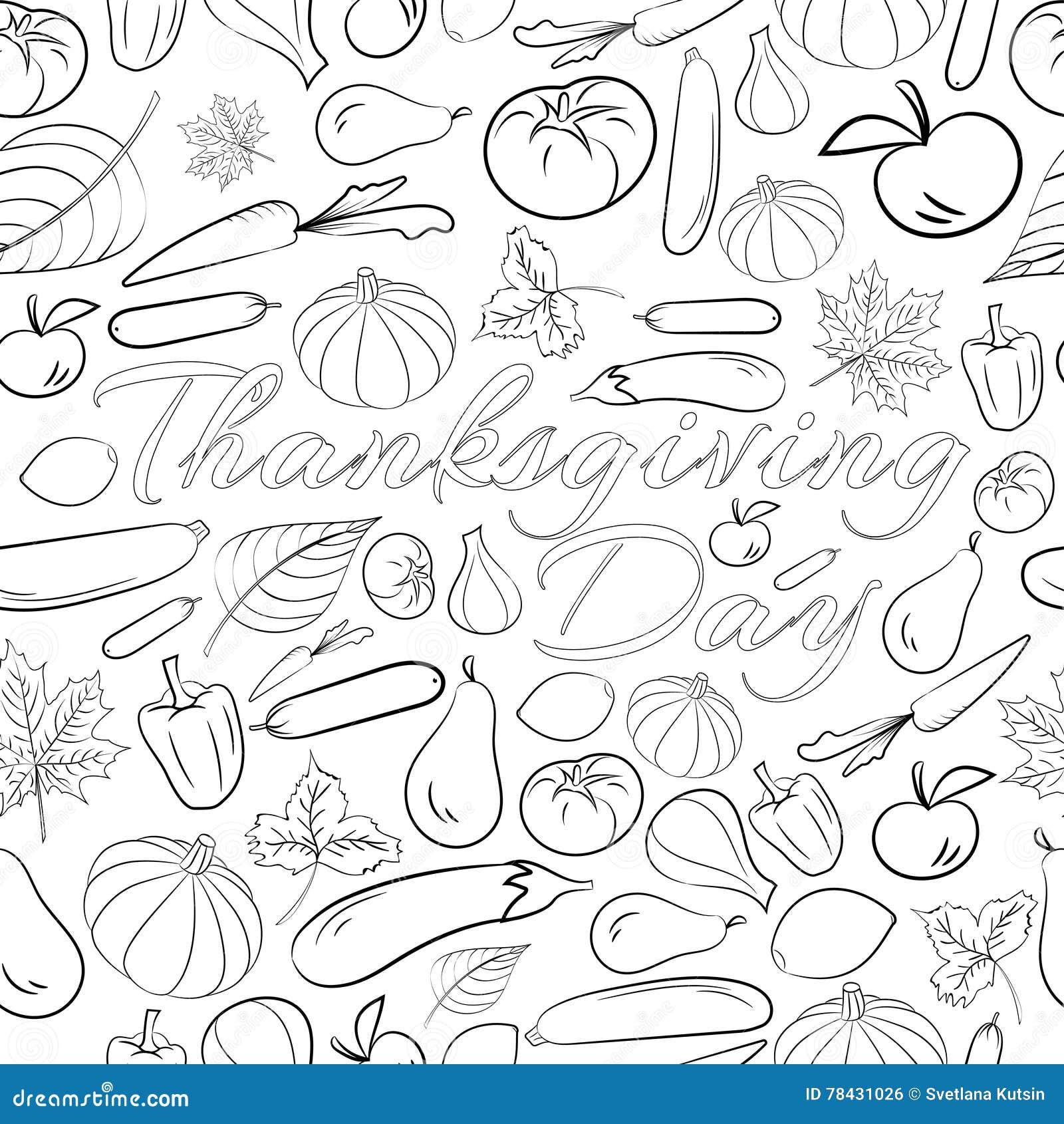 Frutta E Verdura Autunno Da Colorare Free Downloads