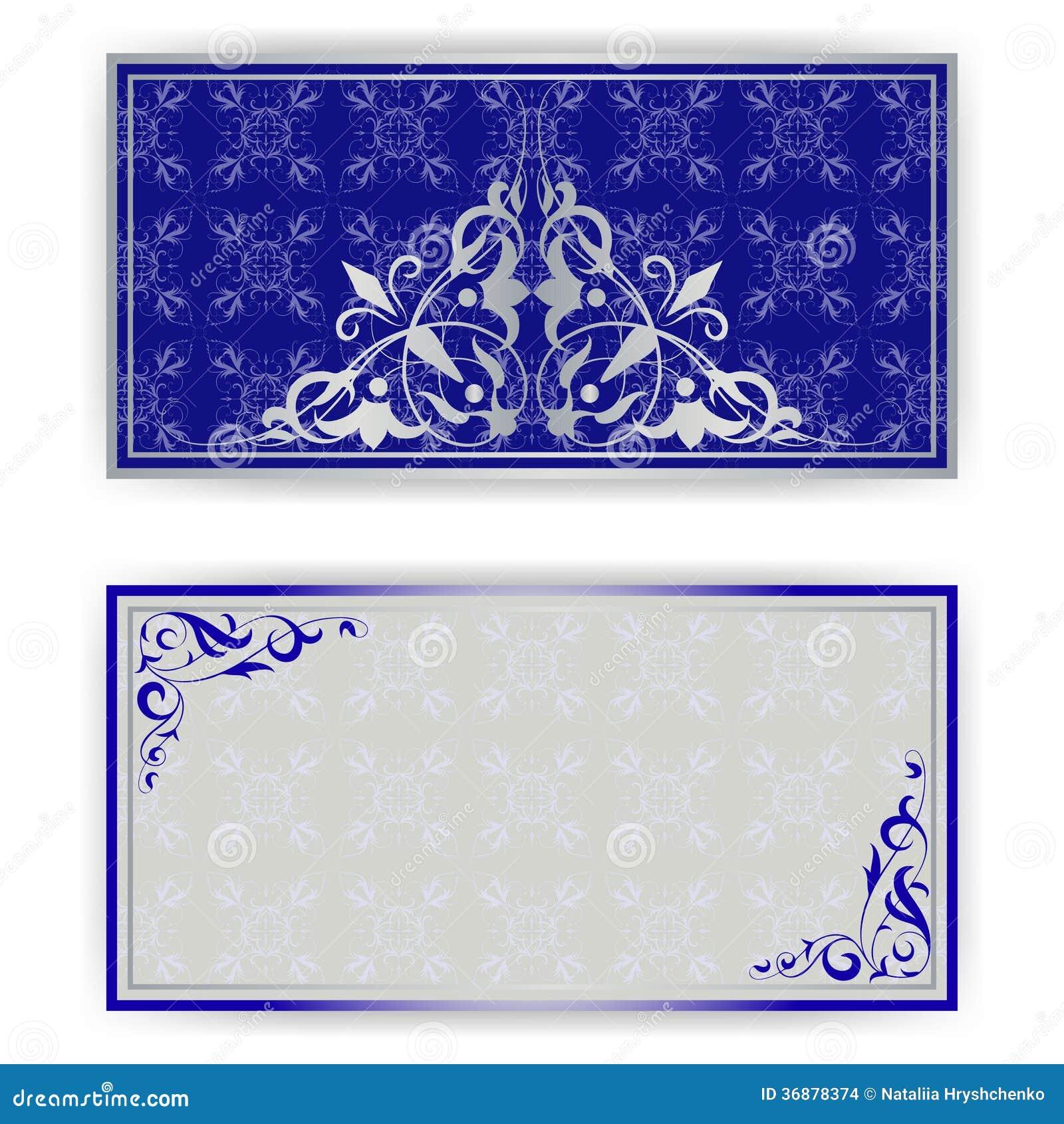 Download Modello Squisito Per La Cartolina D'auguri, Invito Illustrazione di Stock - Illustrazione di estratto, bellezza: 36878374