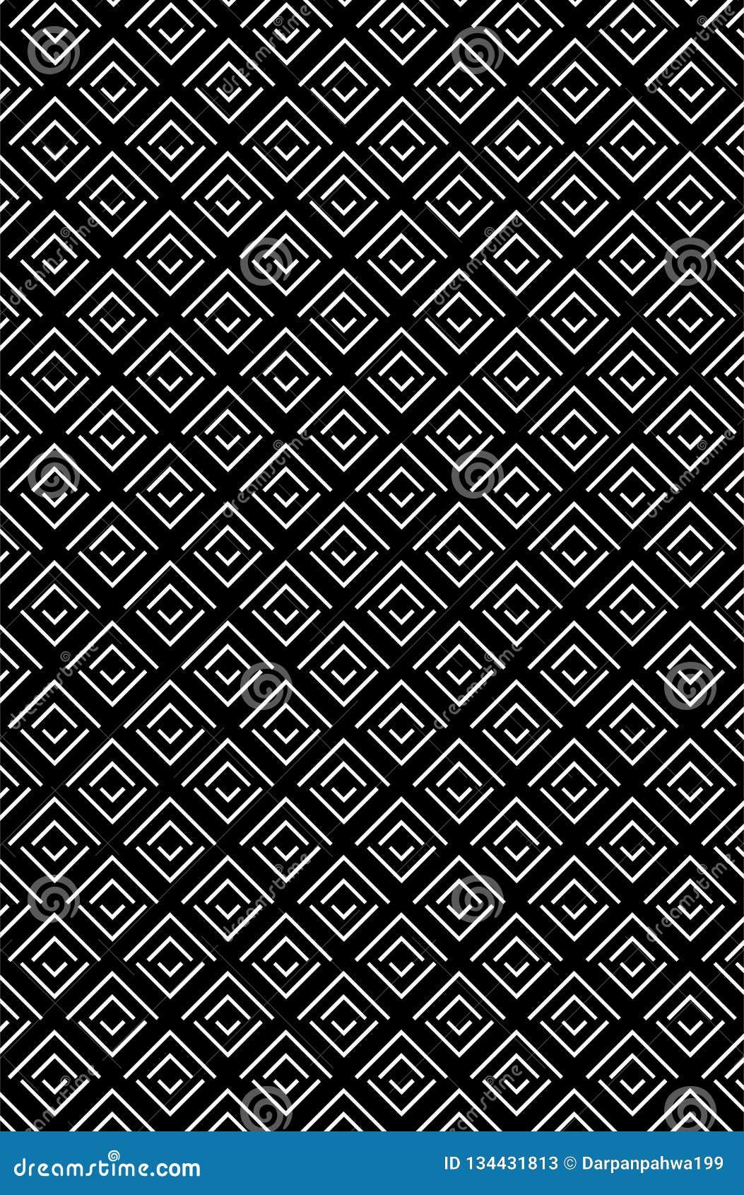 Modello tagliente di struttura del rombo di zigzag nella gradazione