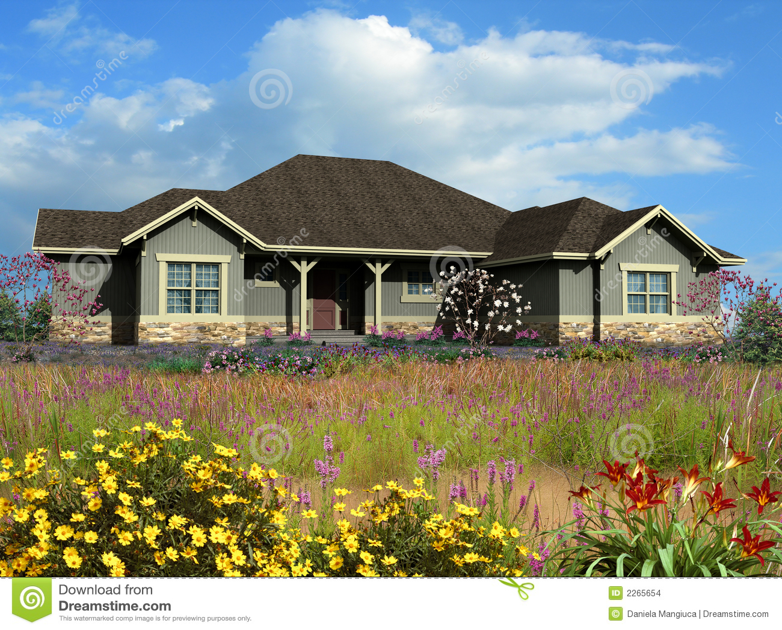Top bonitas casas de rancho wallpapers - Modelo de casa modernas ...