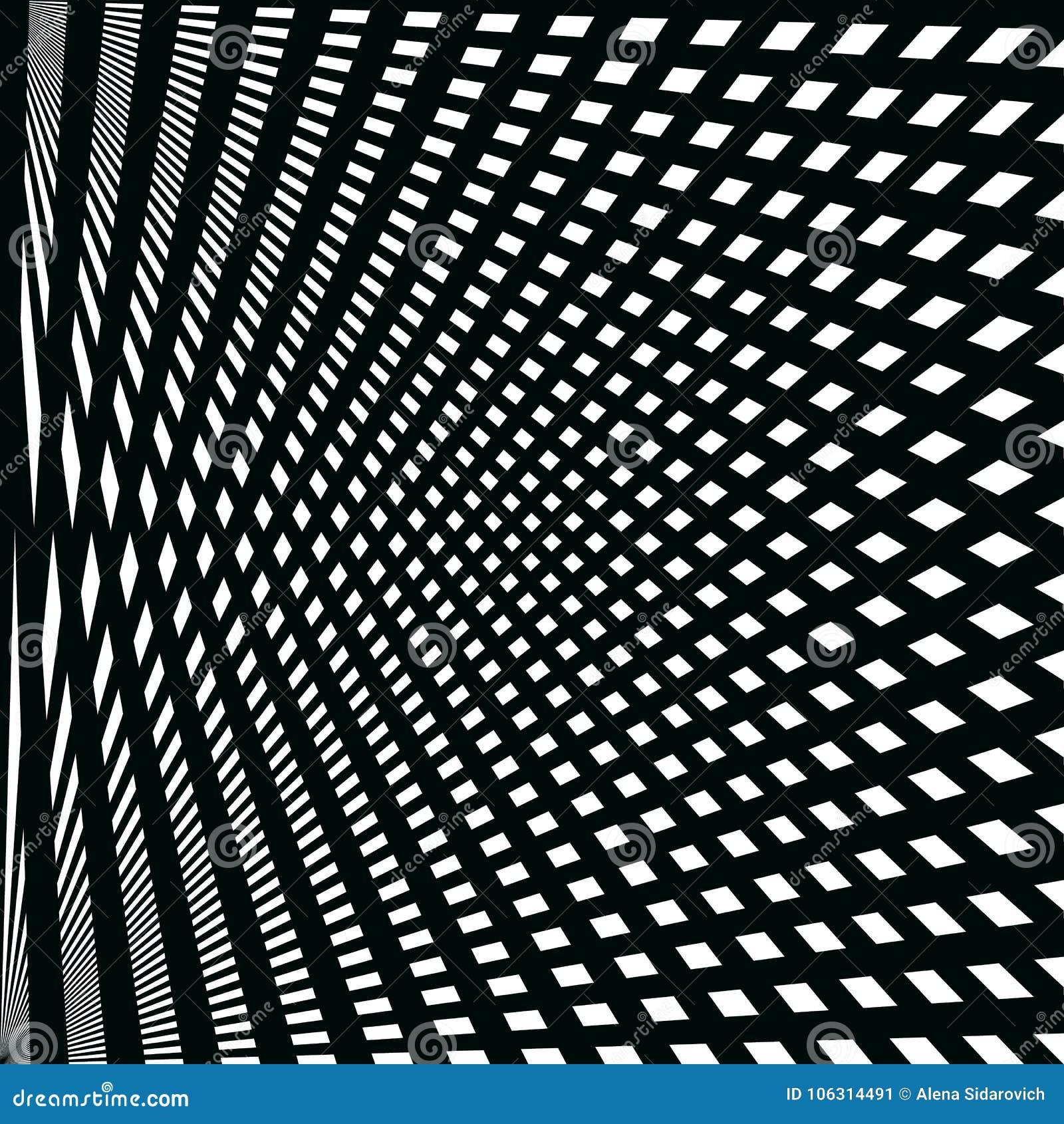 Modelo abstracto de líneas negras en el fondo blanco