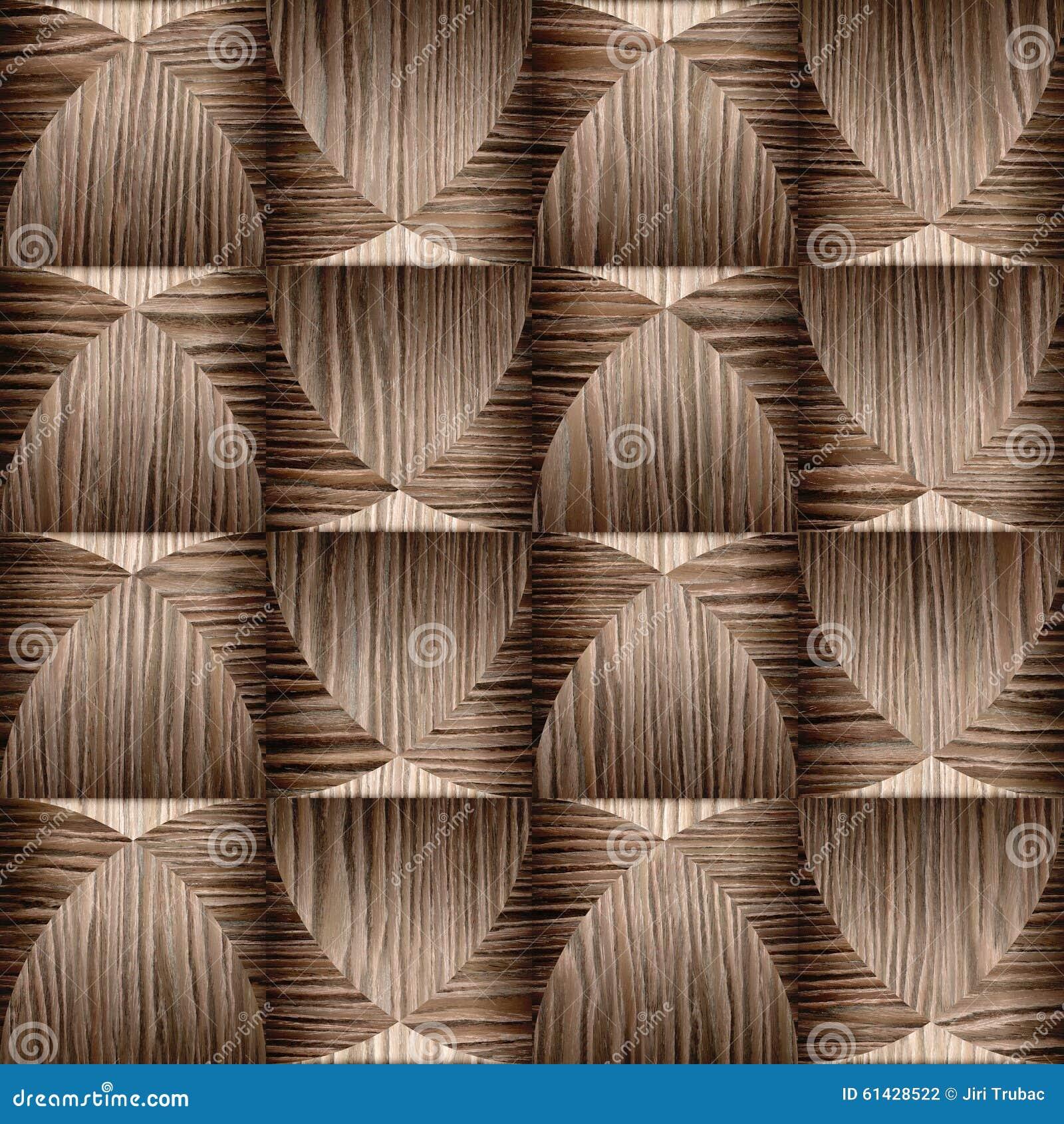 Modelo abstracto del revestimiento de madera - madera arruinada del surco del roble