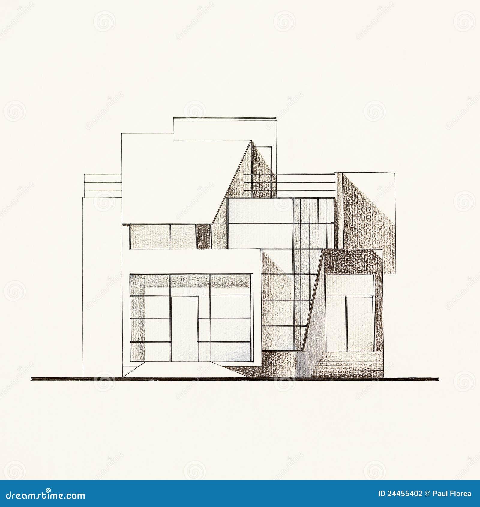 Modelo Arquitect 243 Nico De La Fachada De Una Casa Moderna