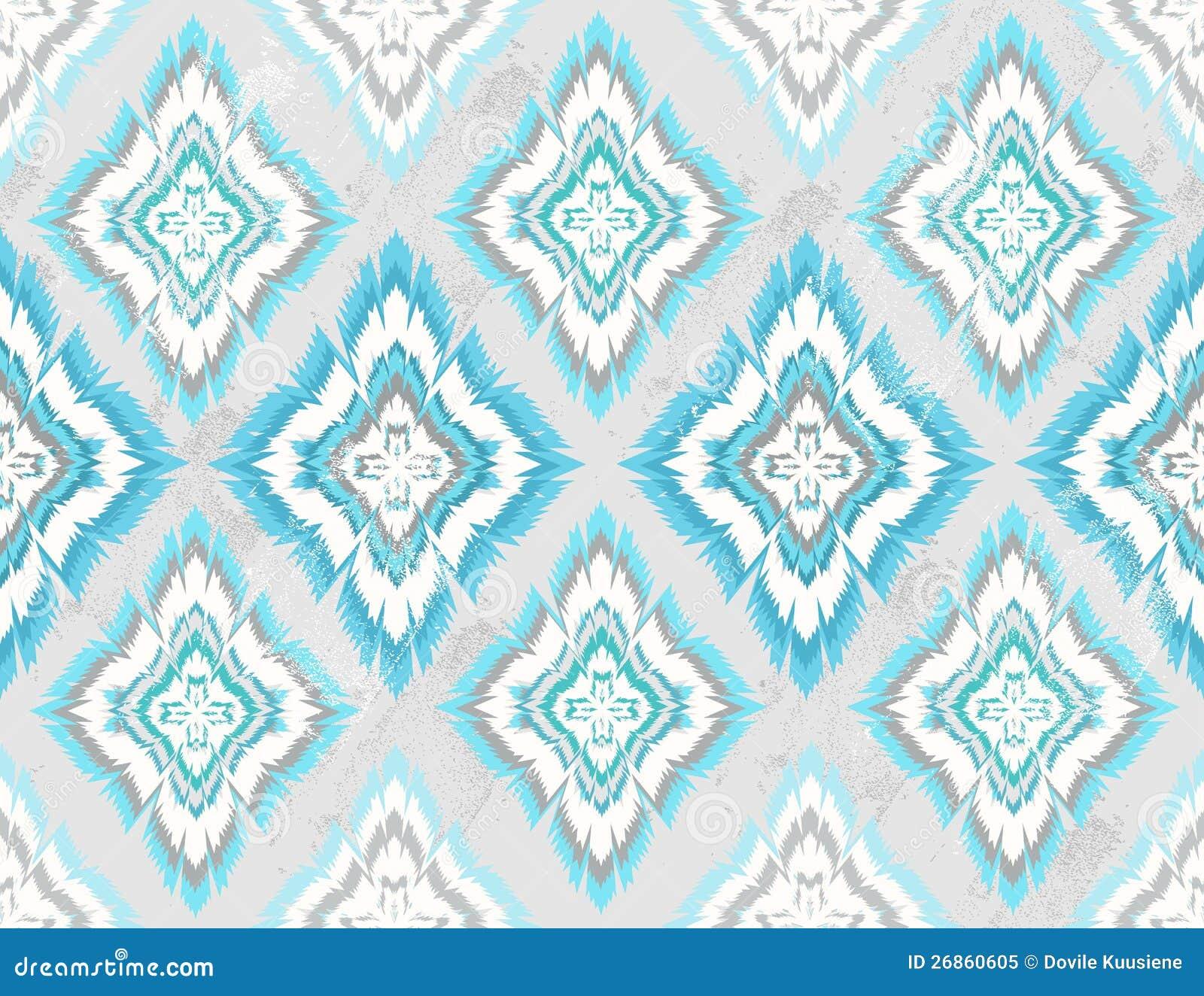 Modelo azteca inconsútil geométrico abstracto