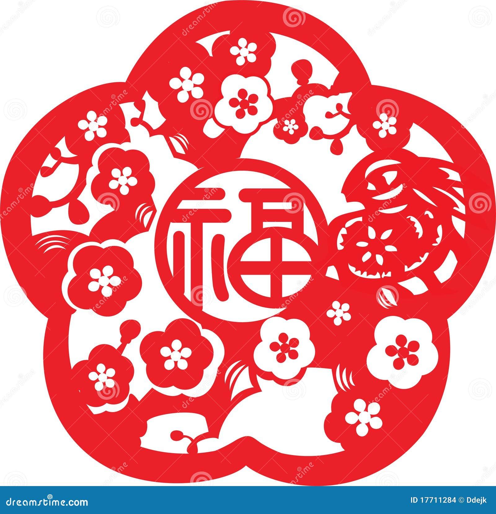 Modelo chino del Año Nuevo