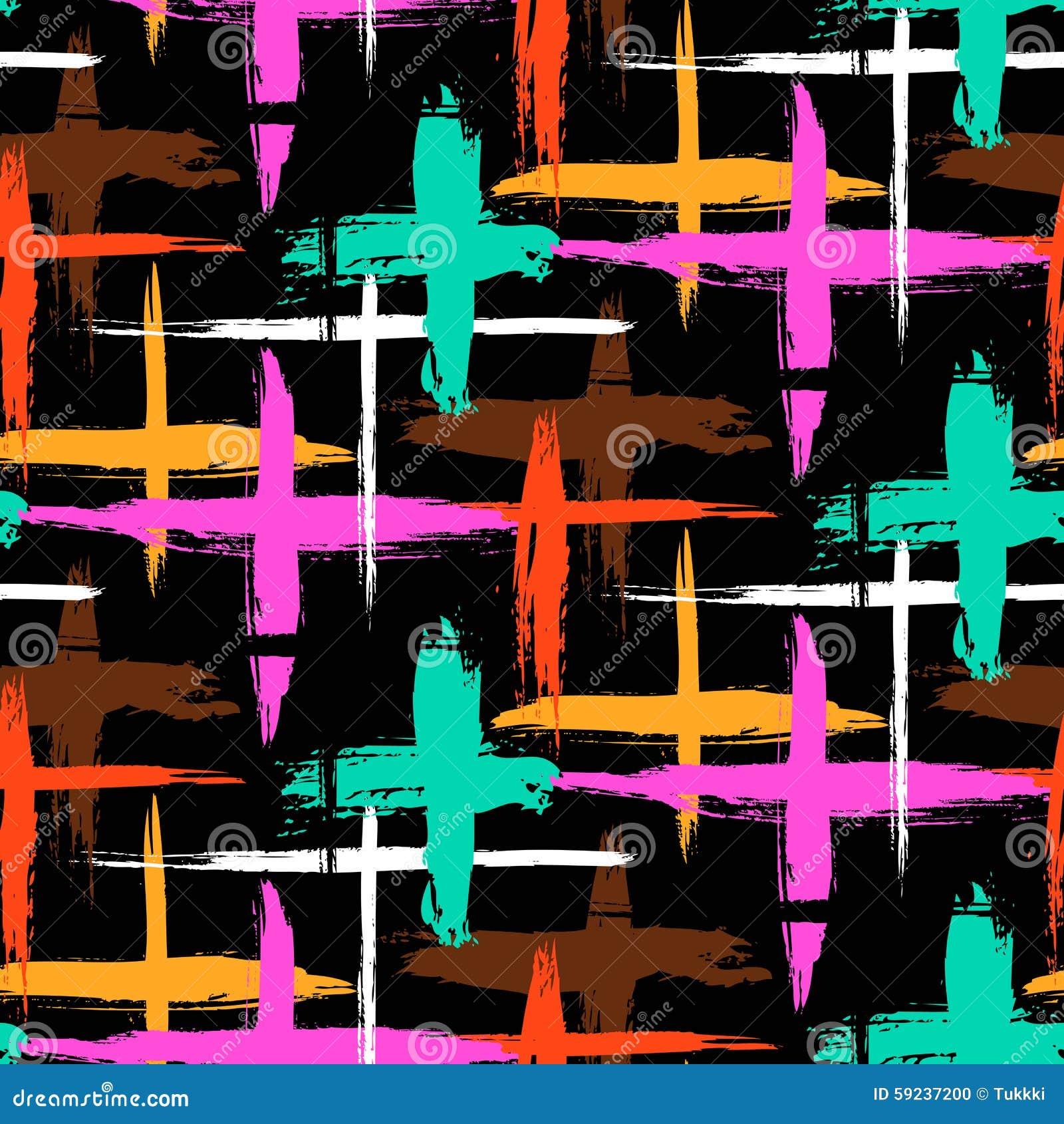 Download Modelo Con Las Rayas Y Las Cruces Ilustración del Vector - Ilustración de bloque, marcas: 59237200