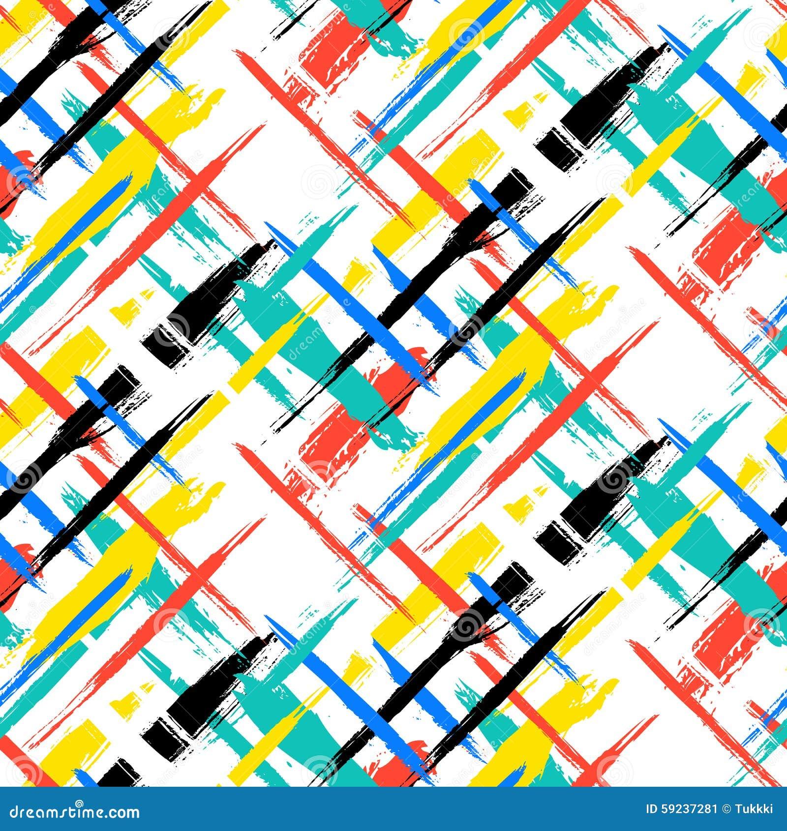 Download Modelo Con Las Rayas Y Las Cruces Ilustración del Vector - Ilustración de pintada, colorido: 59237281
