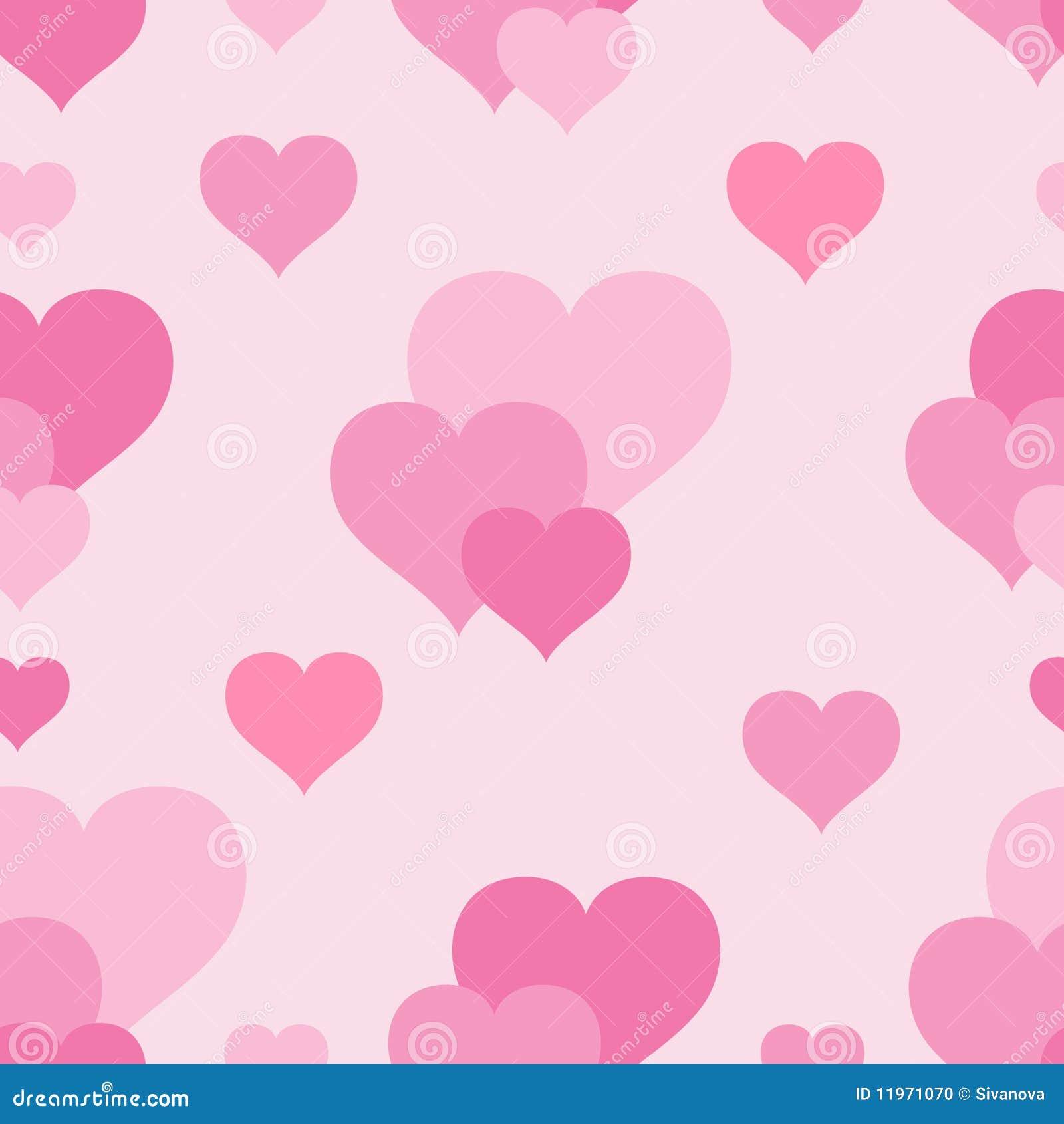modelo con los corazones rosados foto de archivo