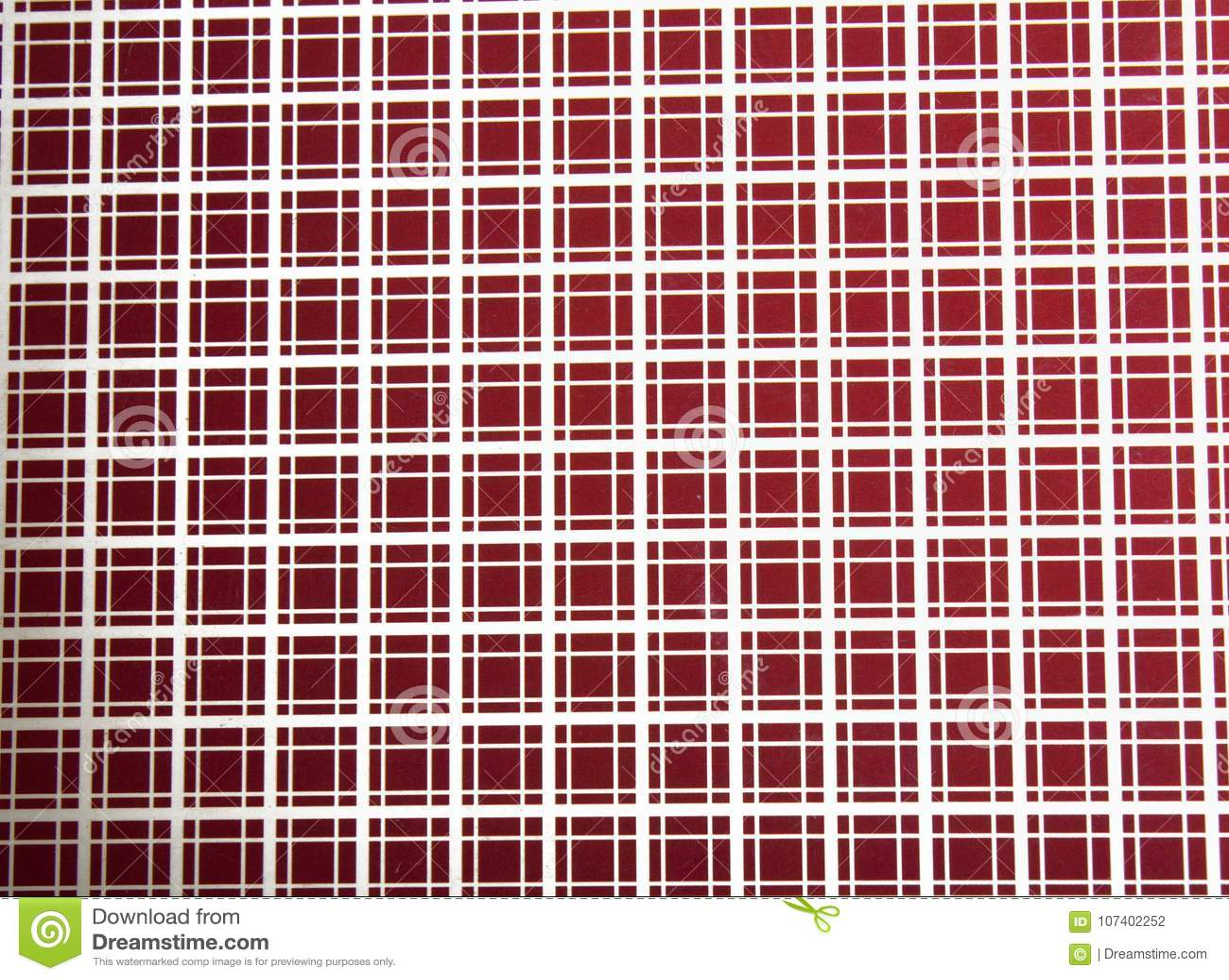 Modelo cuadrado del rojo de la textura