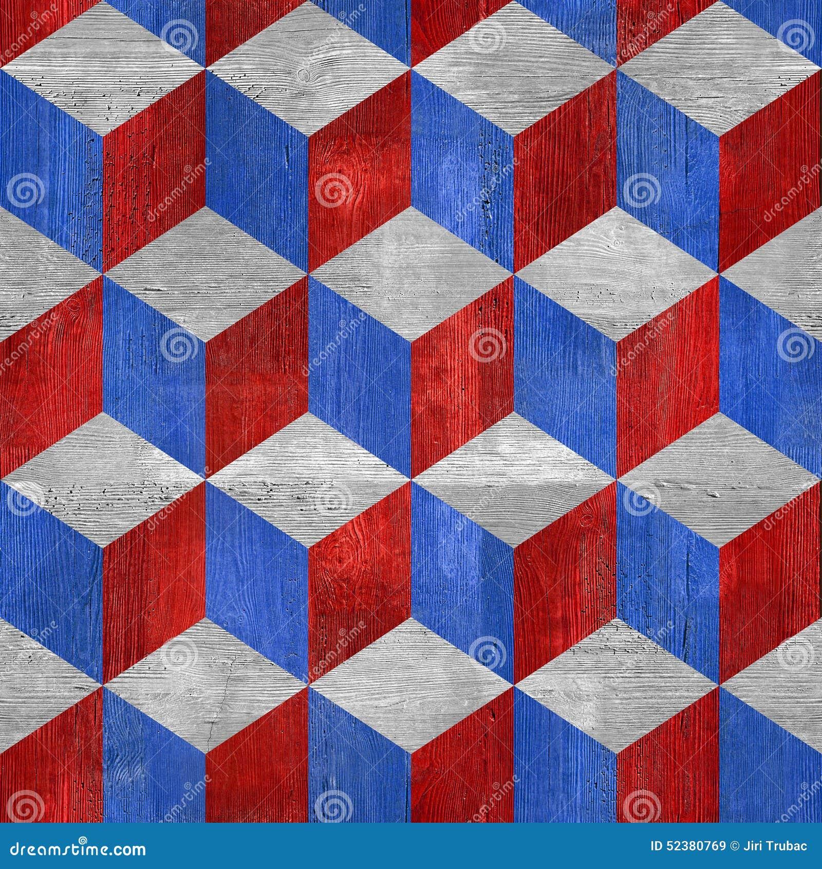 Modelo a cuadros de madera fondo incons til colores rojo azules de los e e u u stock de - Cuadros de colores ...