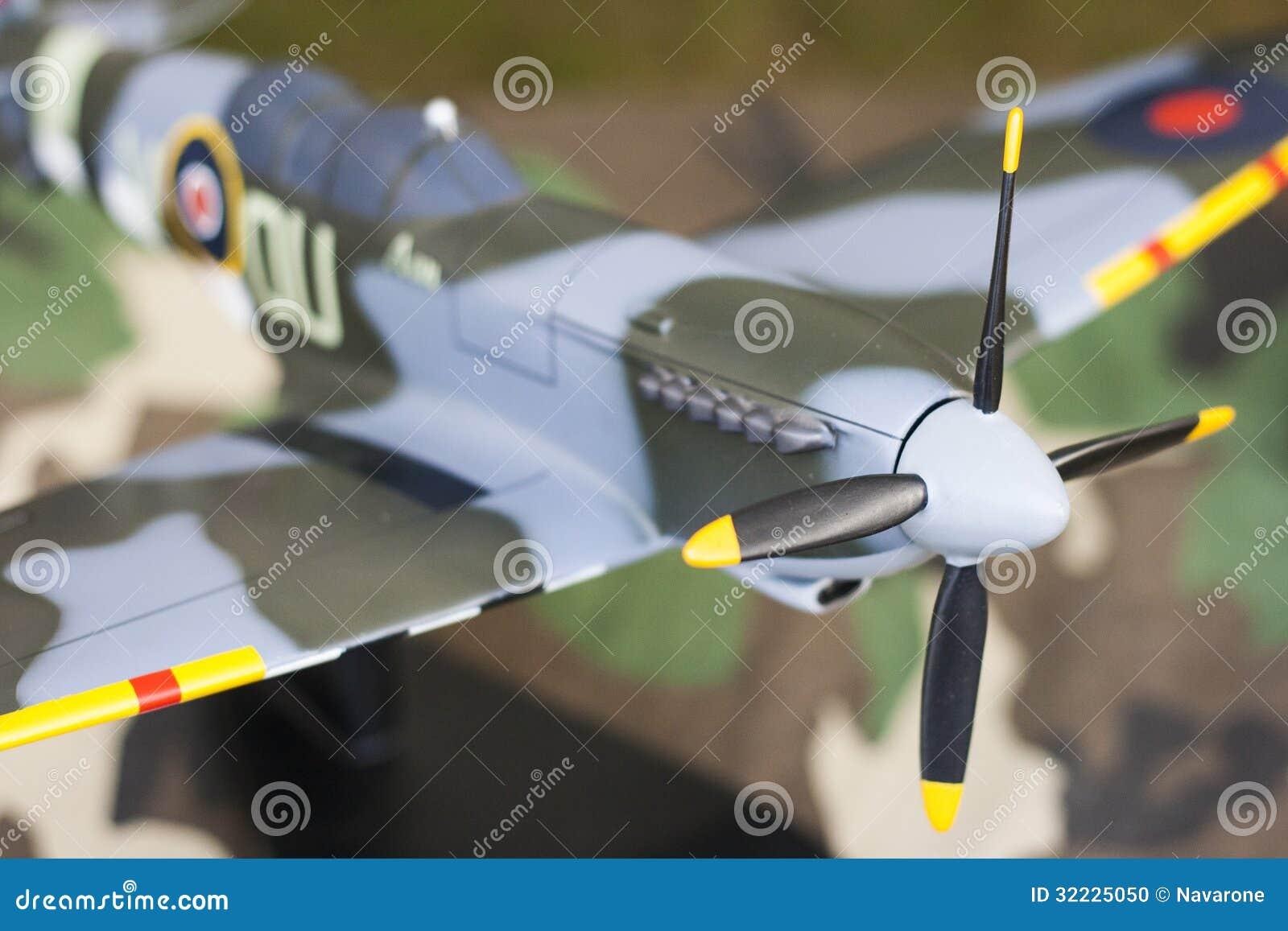 Download Modelo Da Cabeça-quente De Supermarine Foto de Stock - Imagem de closeup, guerra: 32225050