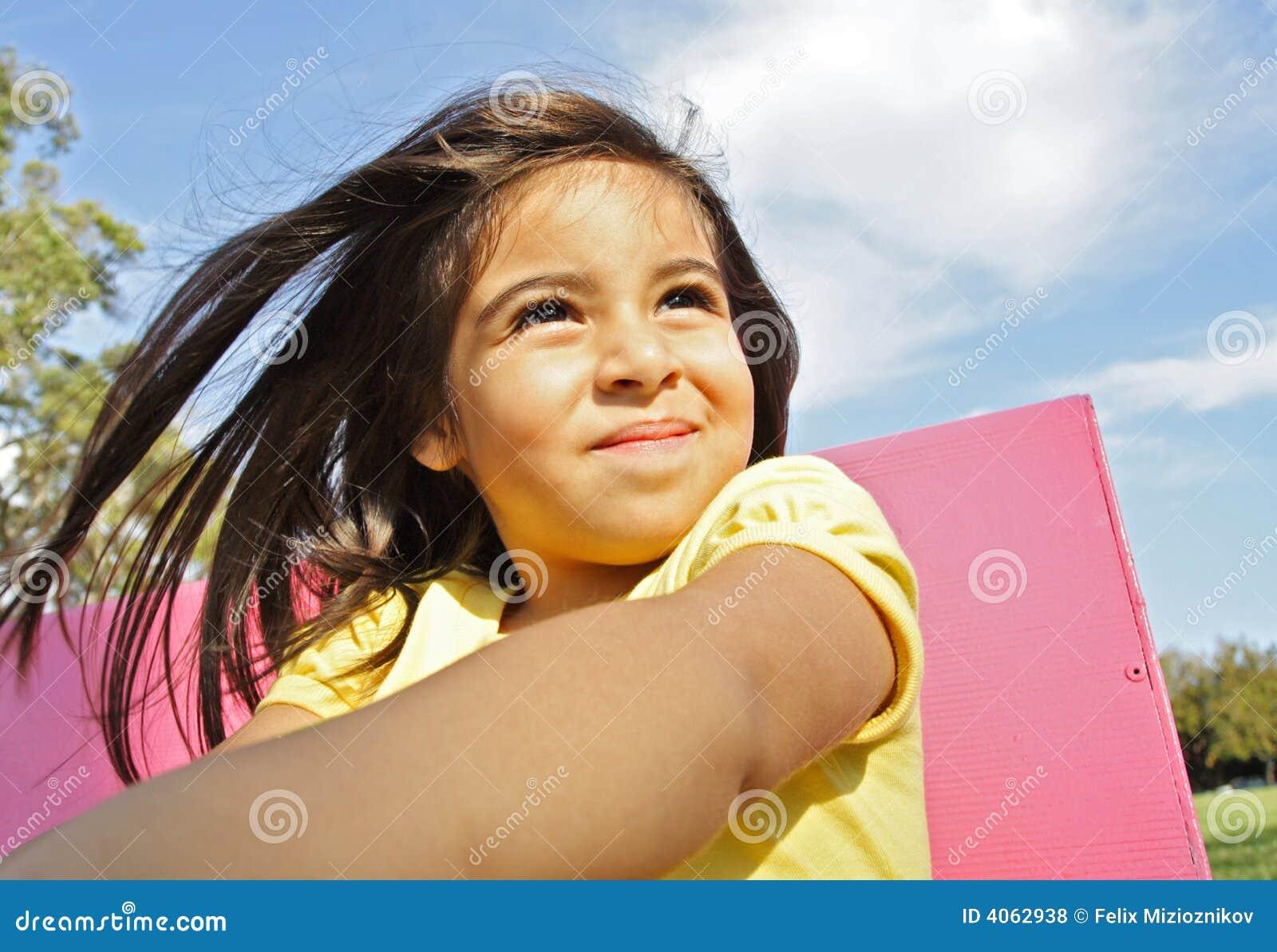 Modelo da criança de 3 anos