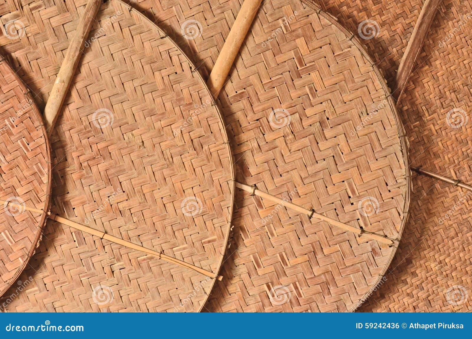 Modelo de bambú de fans