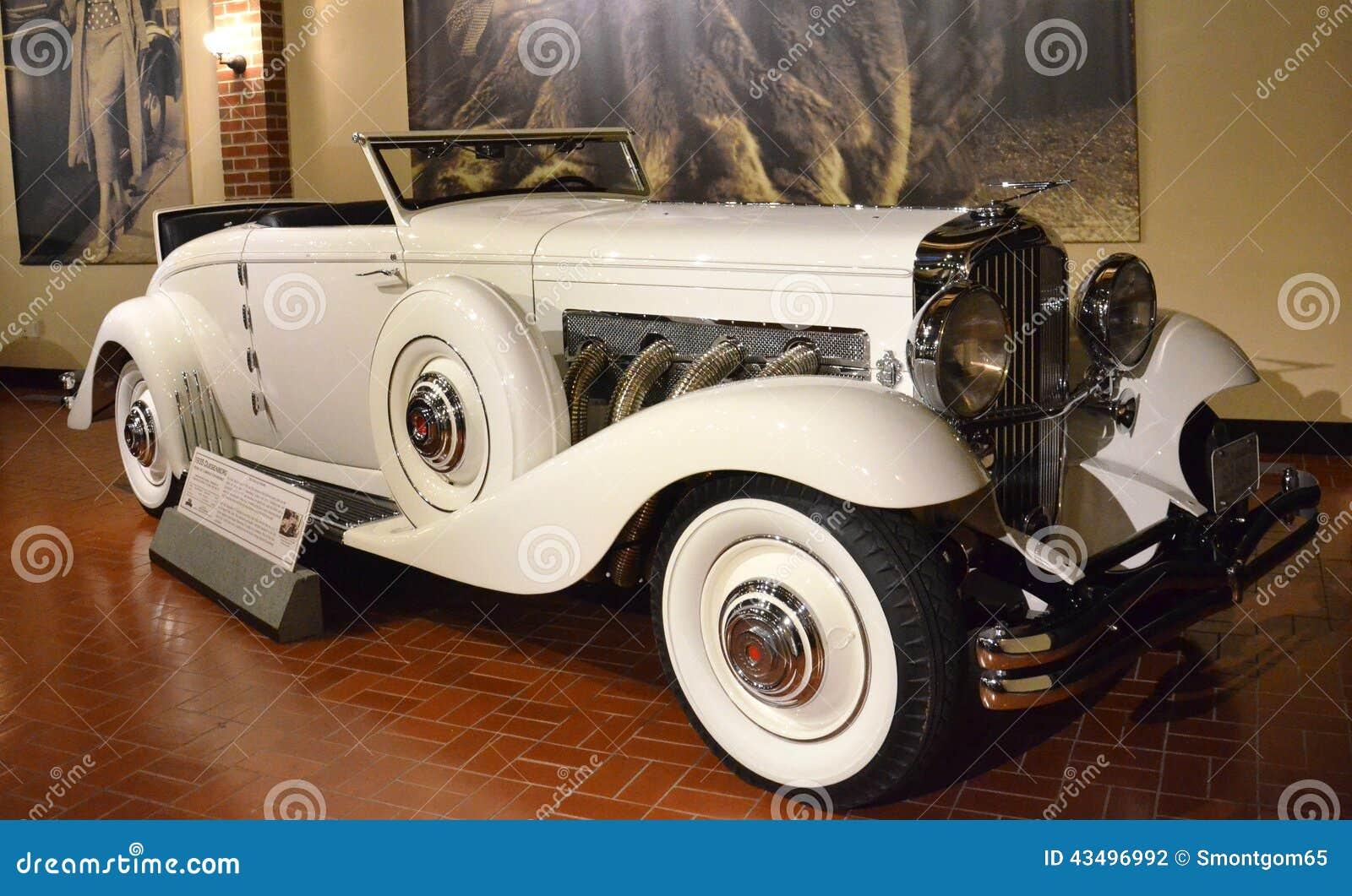 Modelo 1935 de Duesenberg JN Cabriolet Convertible