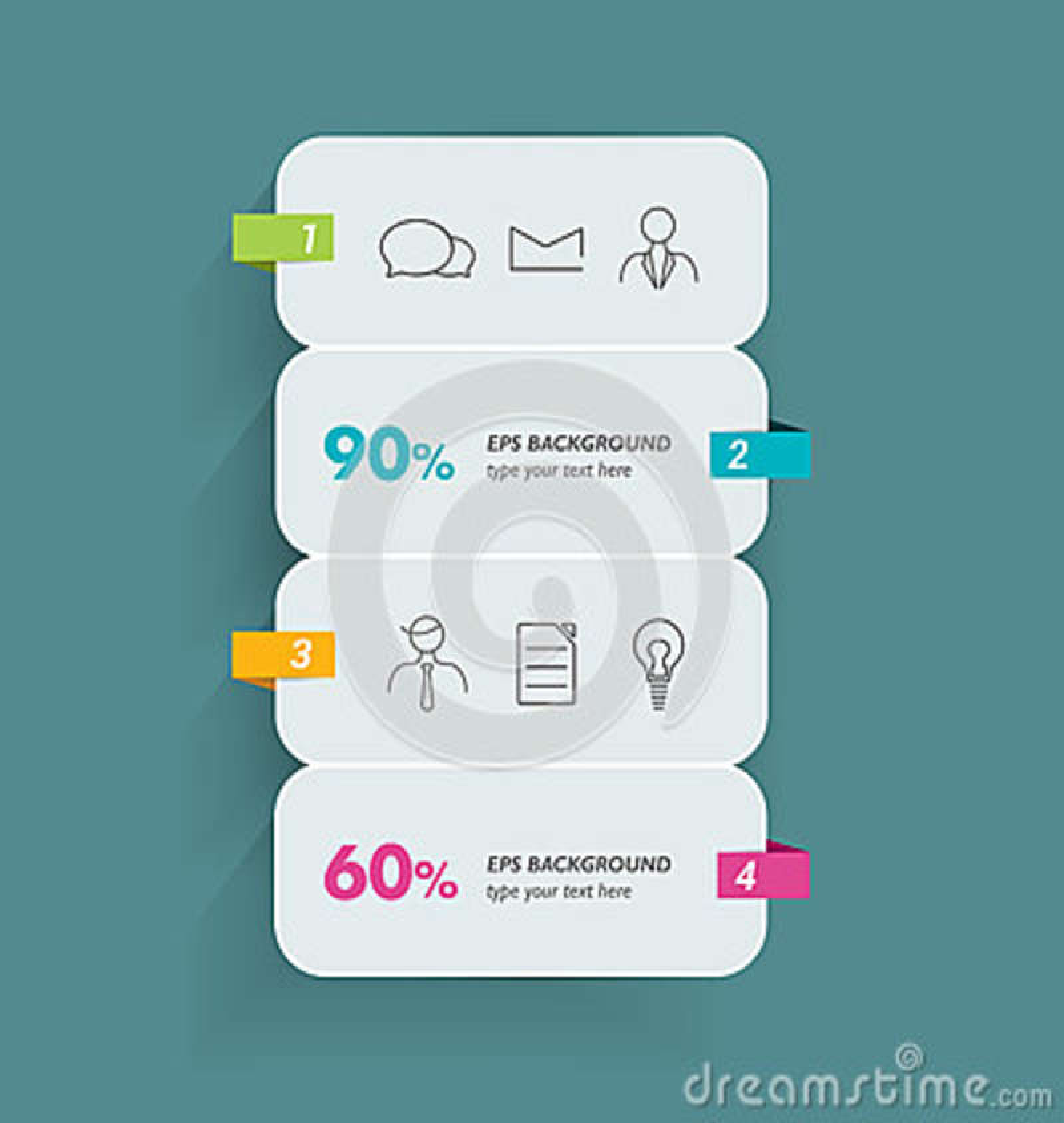 Modelo de Infographic