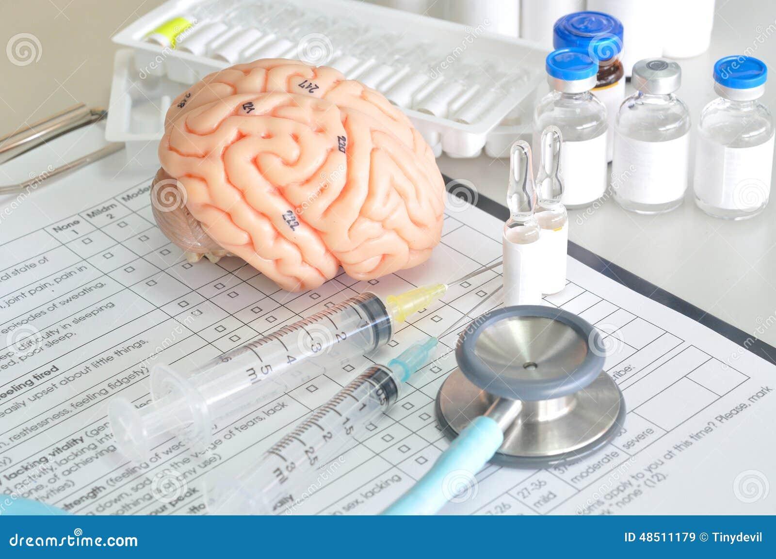Modelo De La Anatomía Y Equipo De Laboratorio Imagen de archivo ...