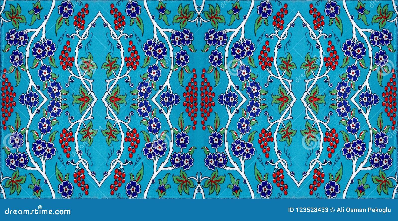 Modelo de la teja de mosaico, adorno islámico