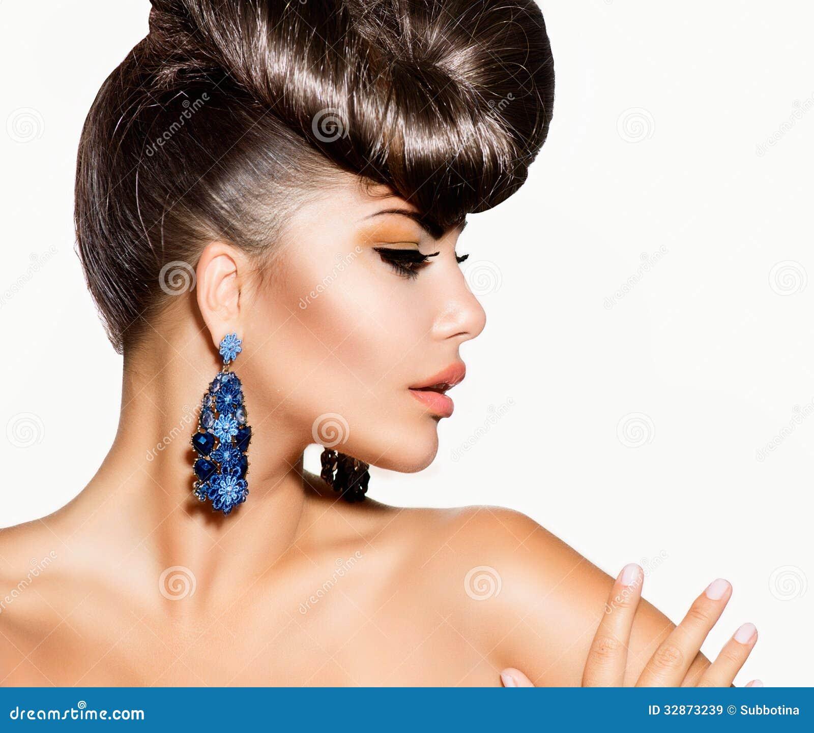 Modelo de moda Girl