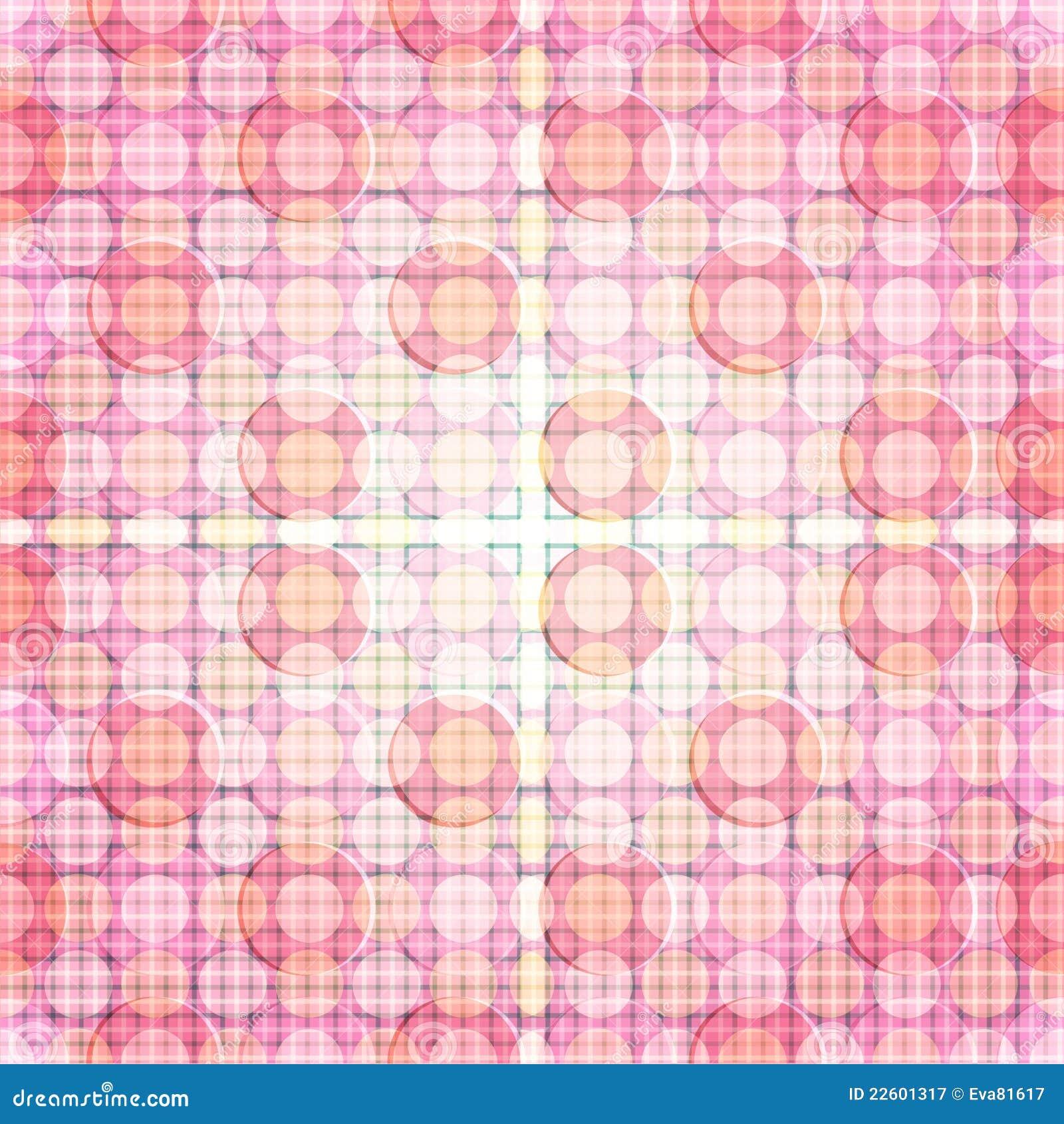 Modelo de punto rosado del fulgor de la repetición