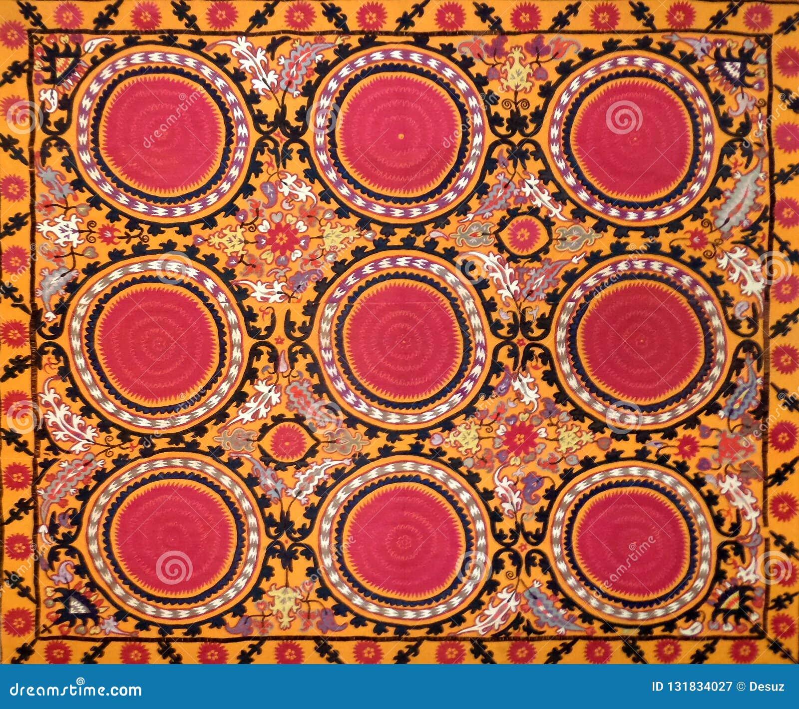Modelo decorativo árabe del este del bordado