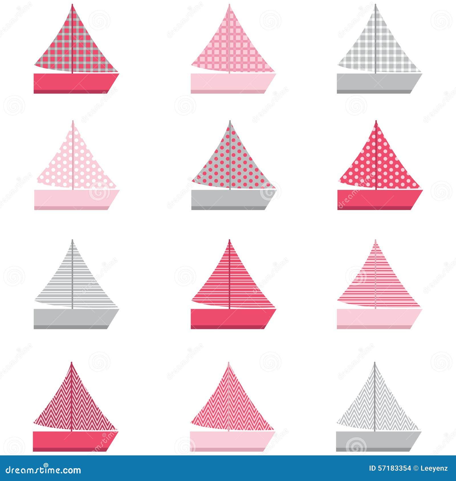 Modelo del diseño del barco de vela