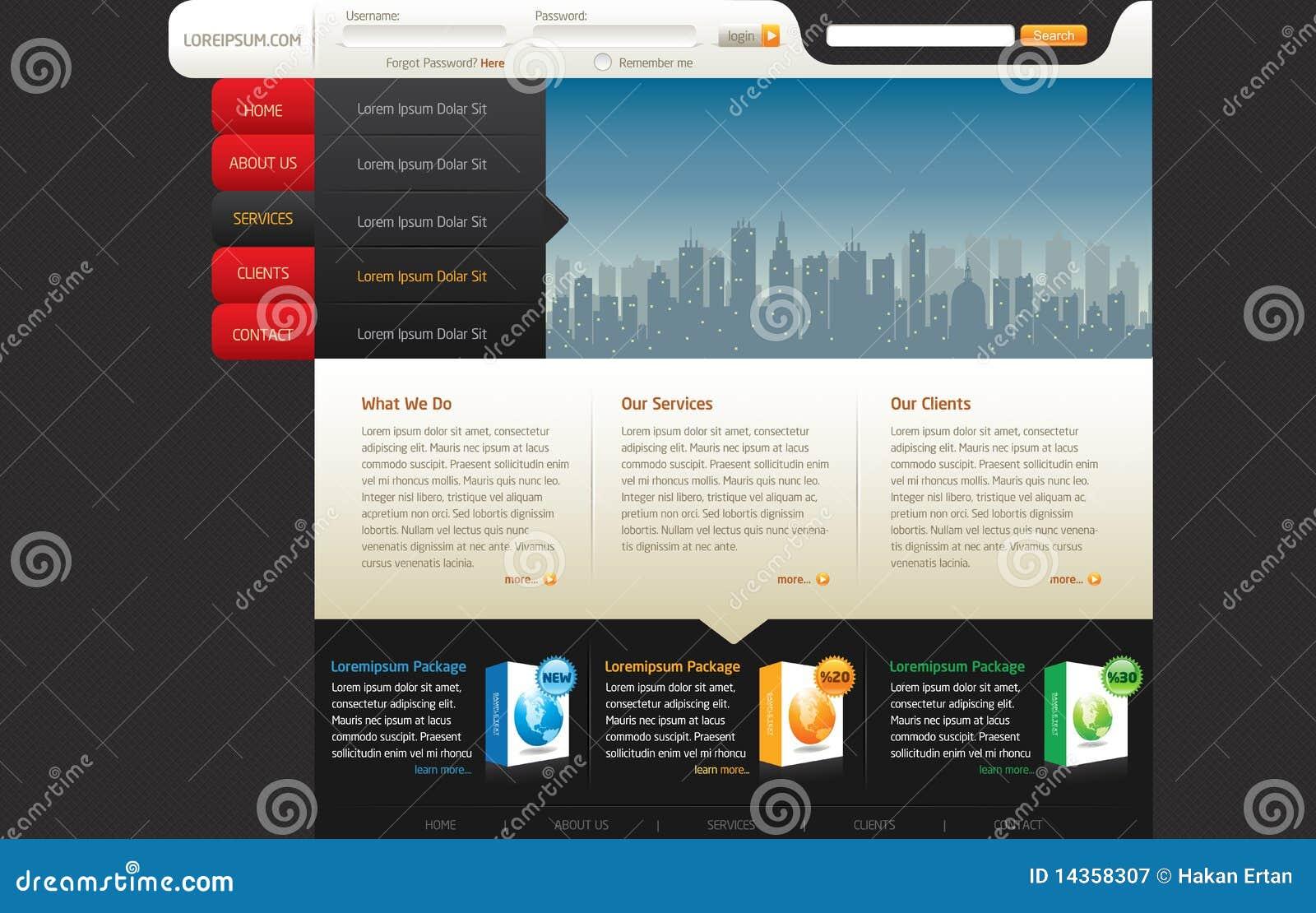 Modelo del diseño del Web site